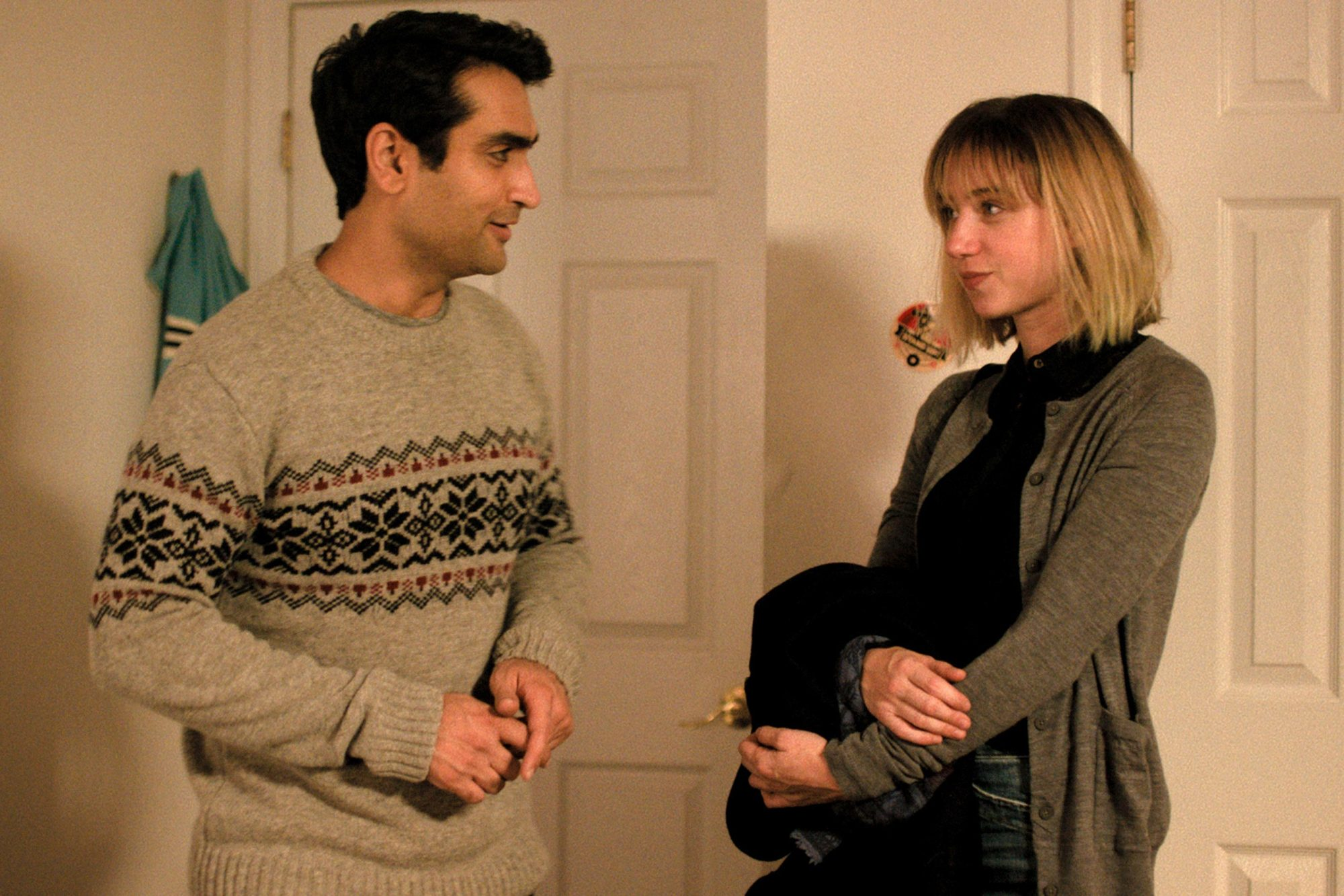 The Big Sick (2017)Kumail (Kumail Nanjiani) and Emily (Zoe Kazan)