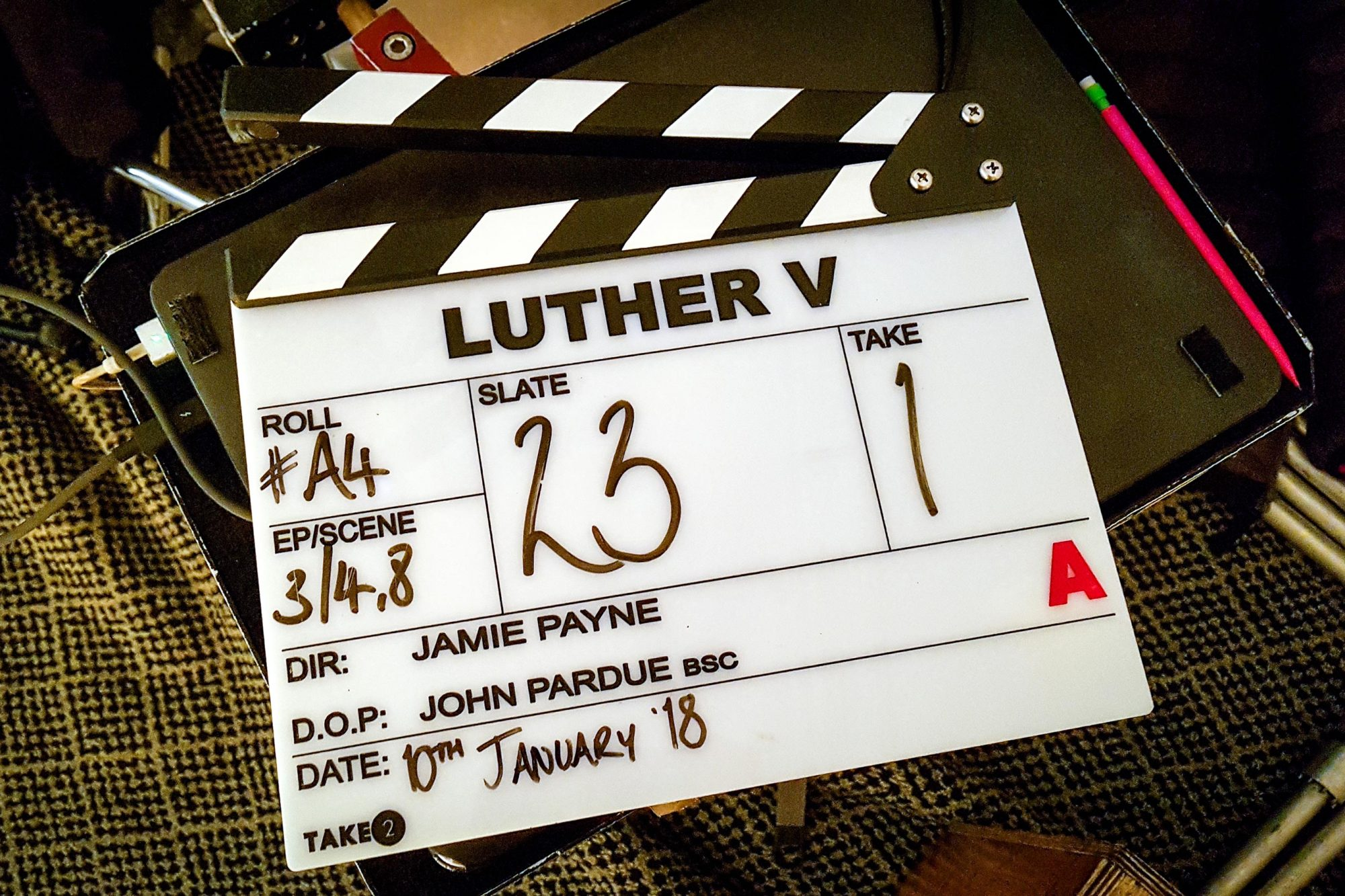 Clapperboard-LUTHER-s5