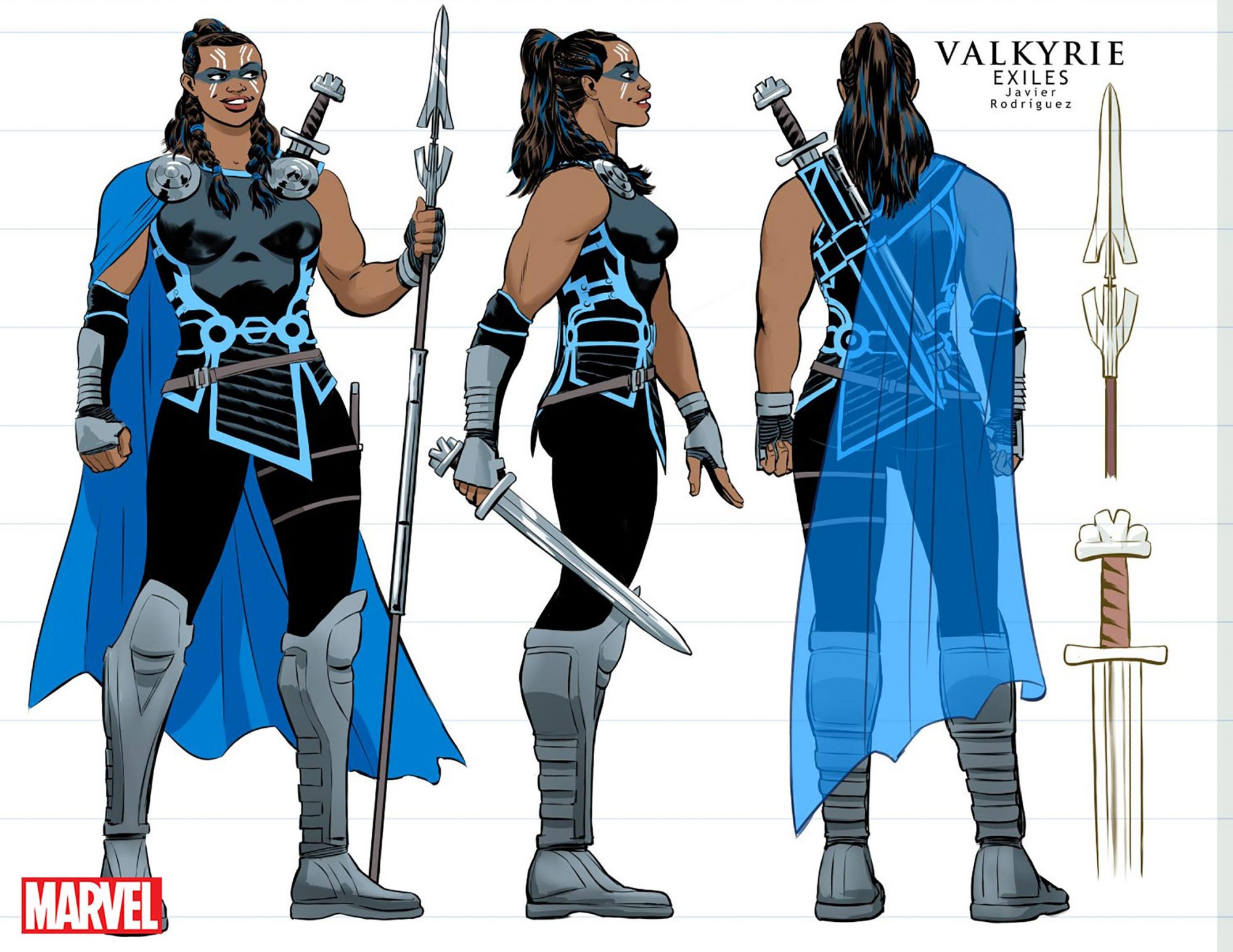 Valkyrie Comic Book CR: Marvel