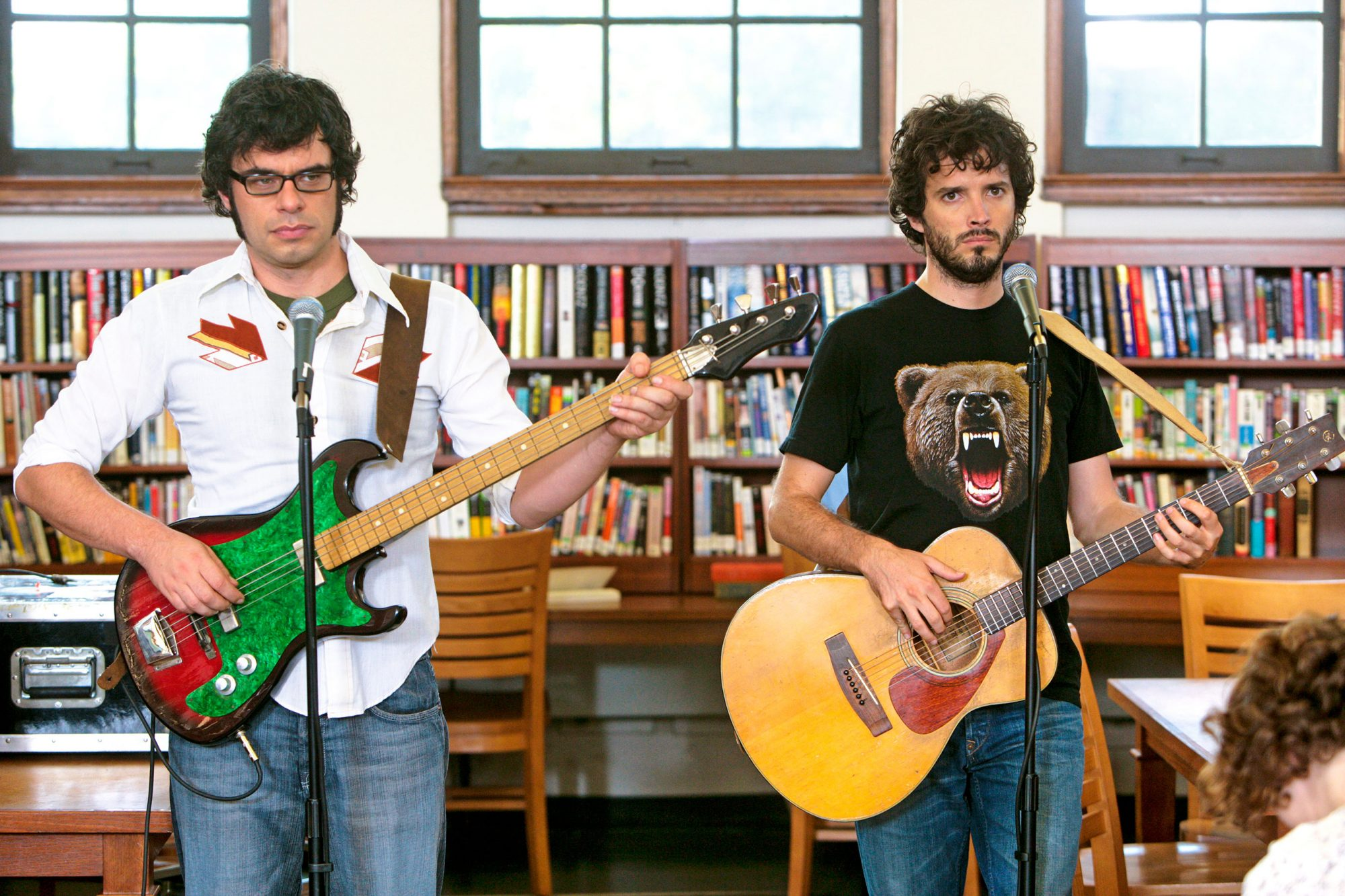 FLIGHT OF THE CONCHORDS Jemaine Clement, Bret McKenzie.