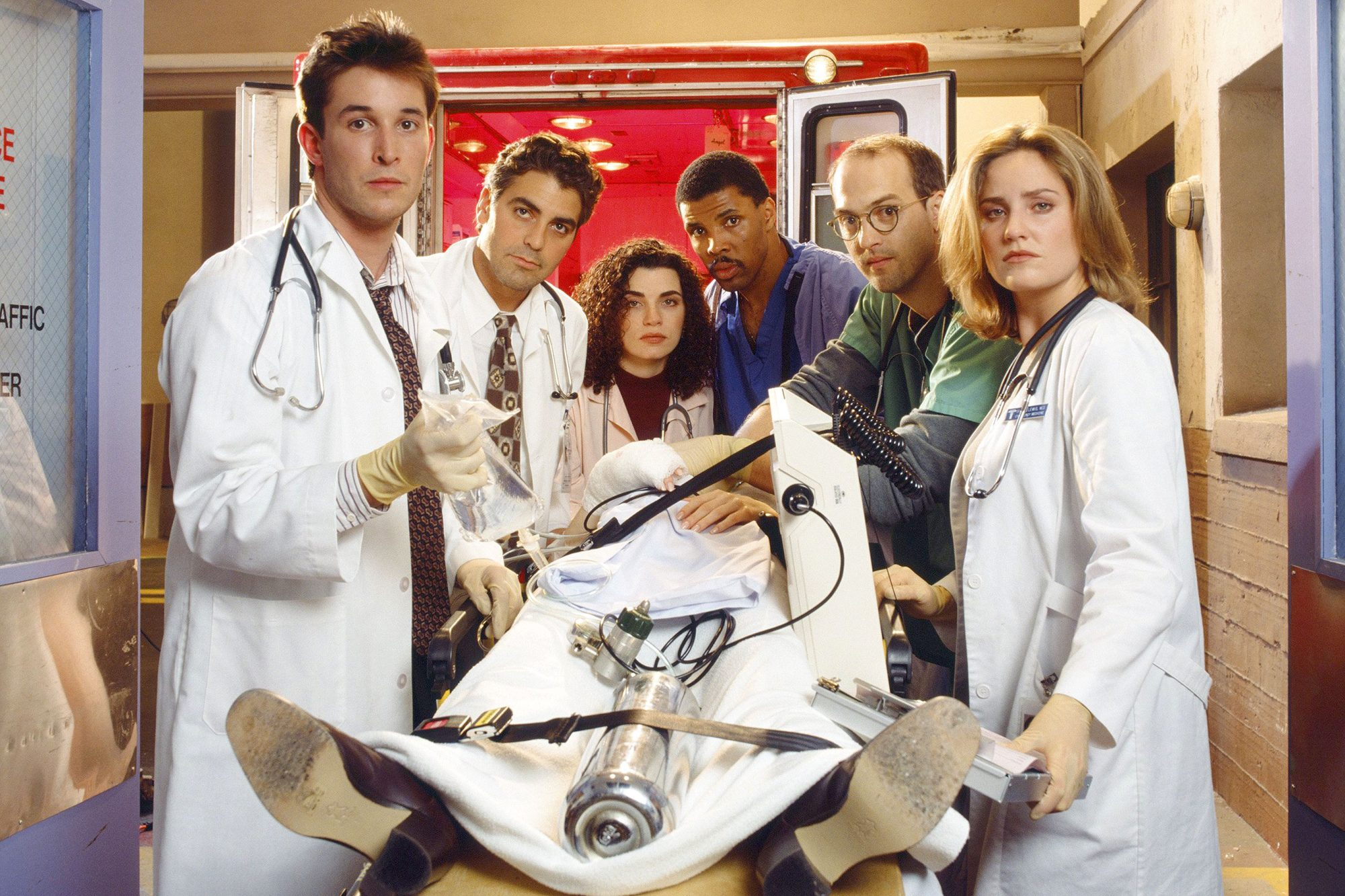 The stars of ER, then and now