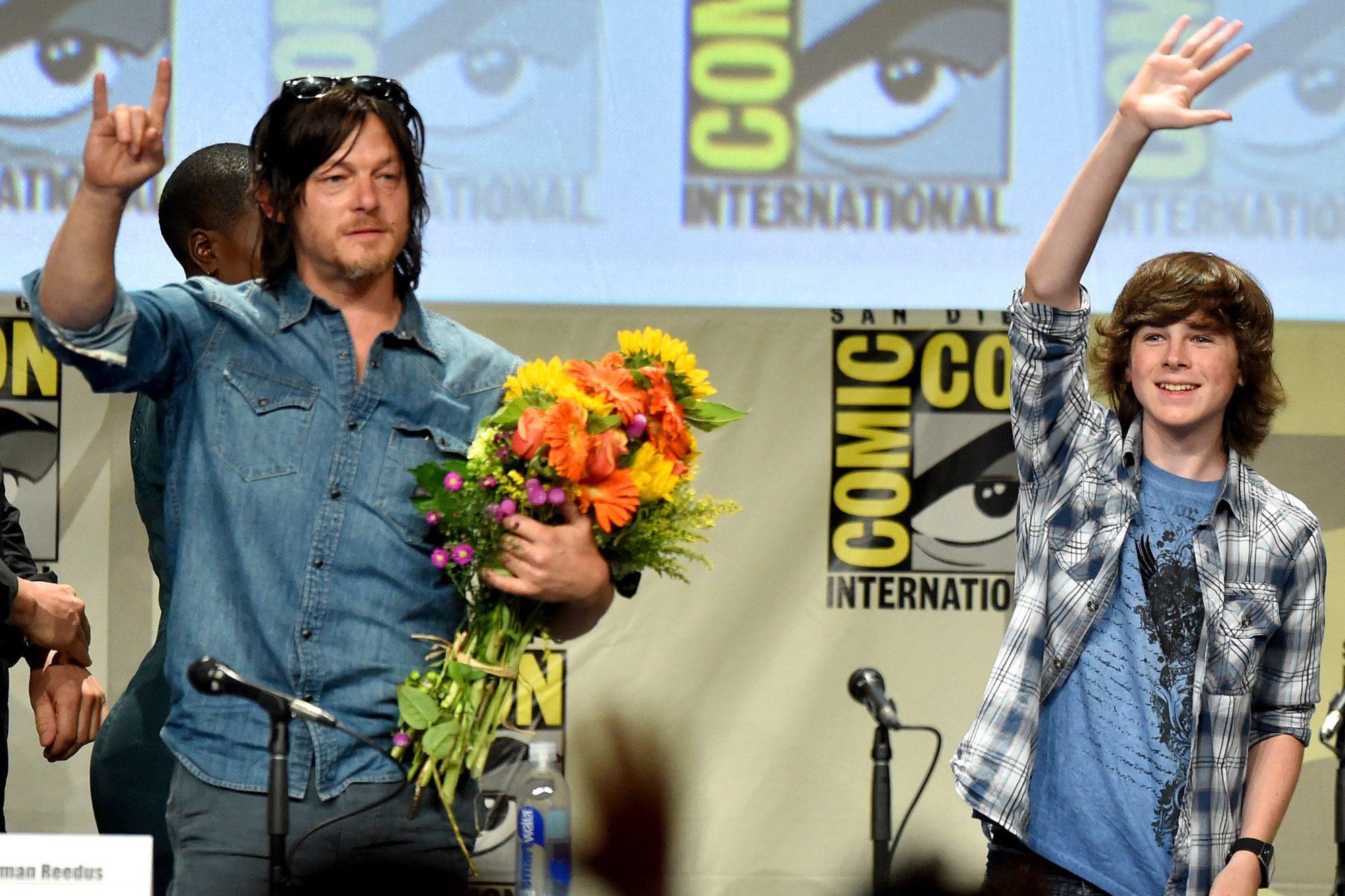 "AMC's ""The Walking Dead"" Panel - Comic-Con International 2014"