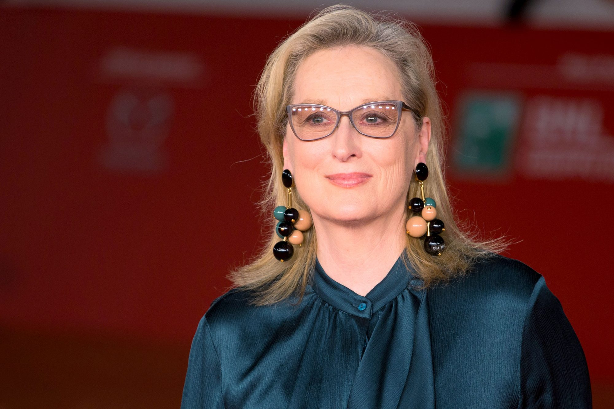 American actress Meryl Streep lights up the Red Carpet at