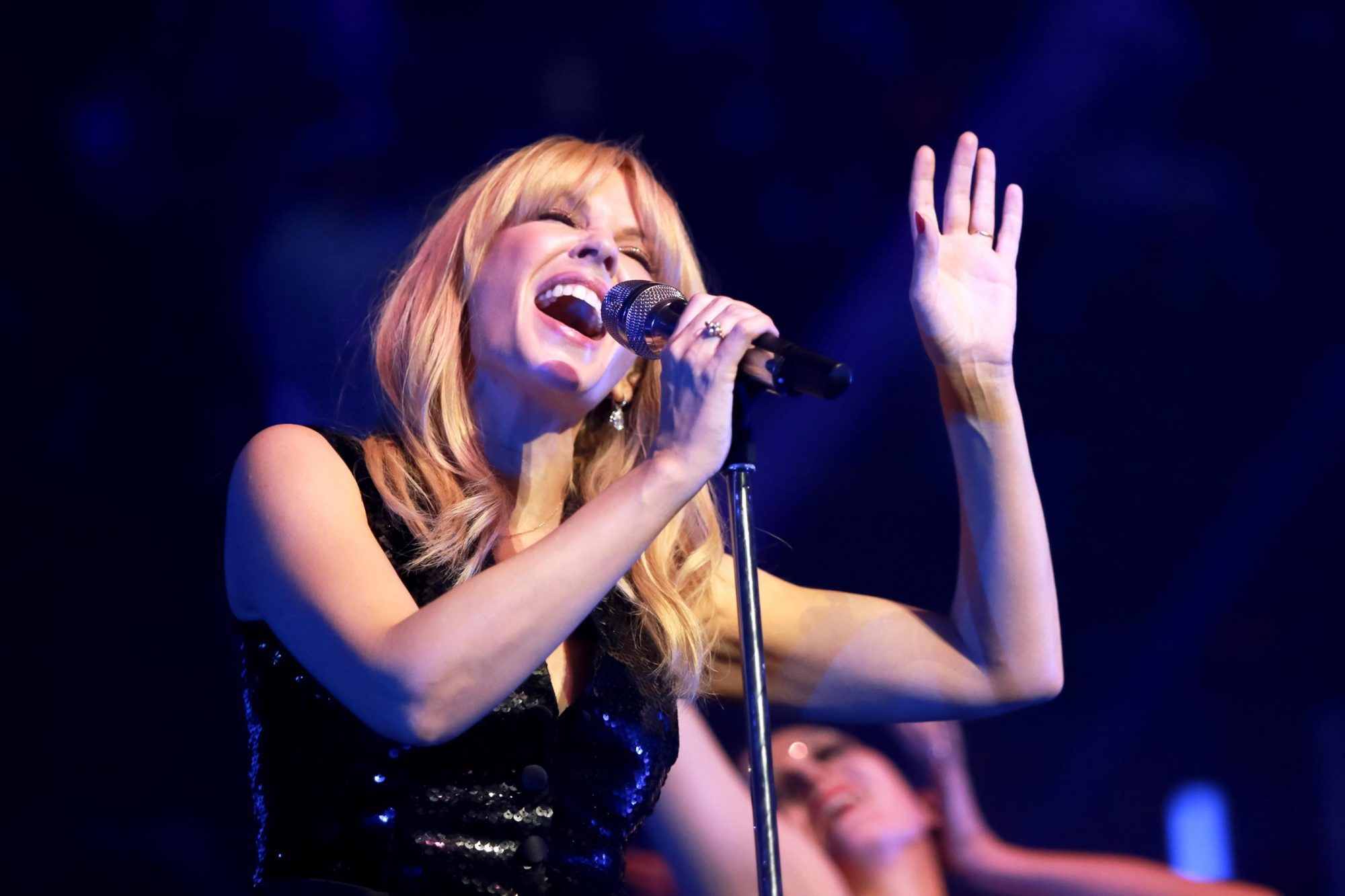 Kylie Minogue Performs At The Royal Albert Hall