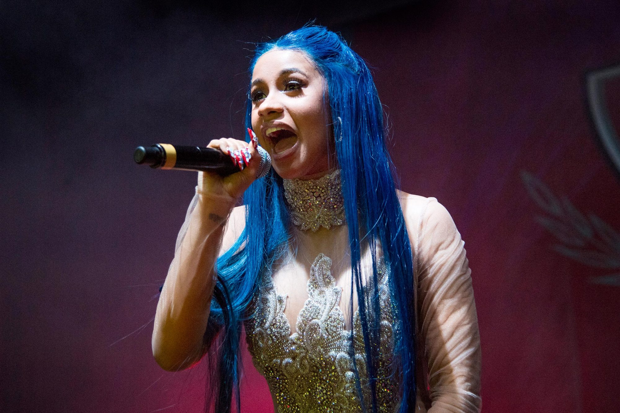 Cardi B And Machine Gun Kelly In Concert - New Orleans, Louisiana