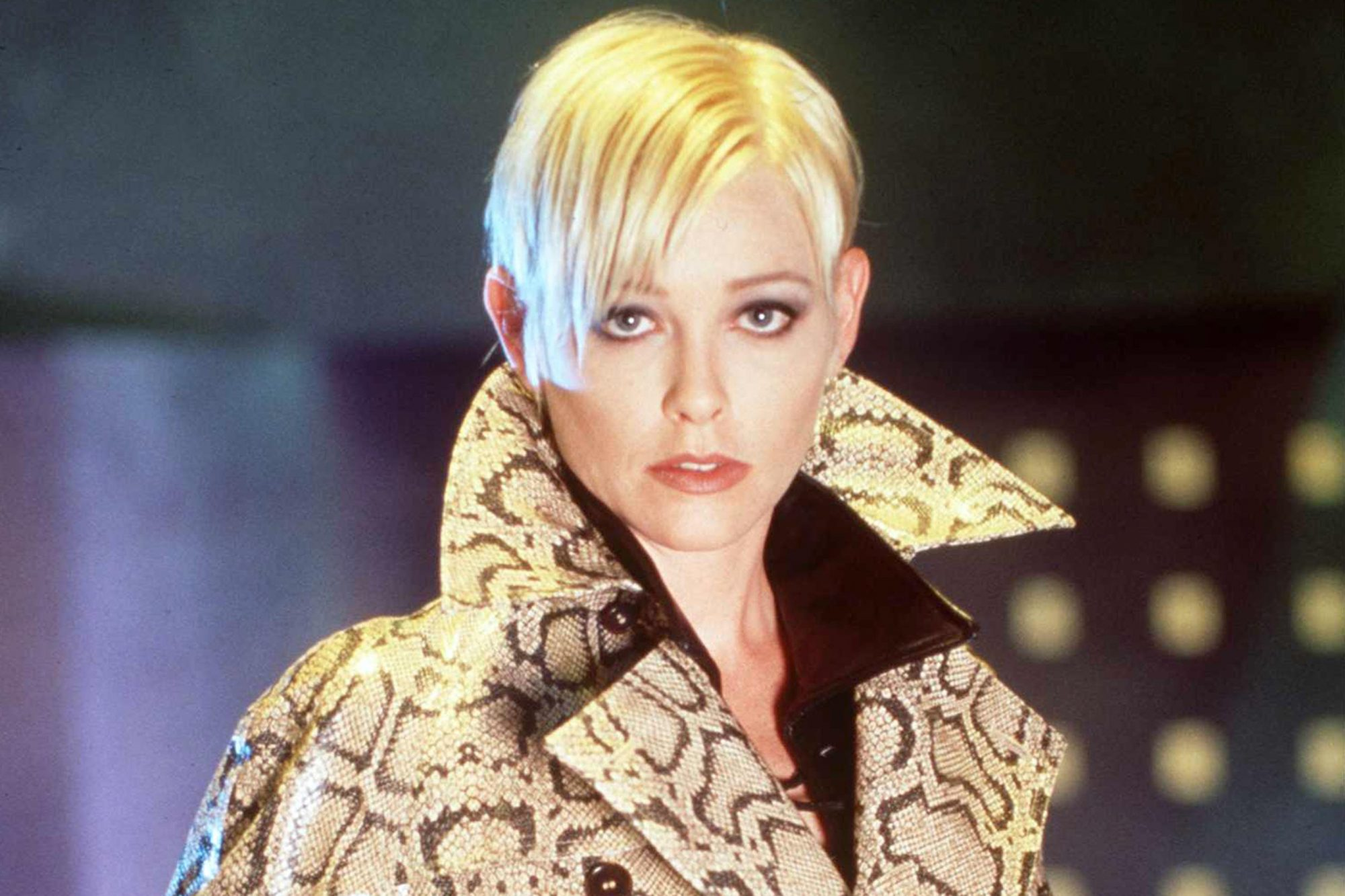 "Pamela Gidley in ""The Pretender."""