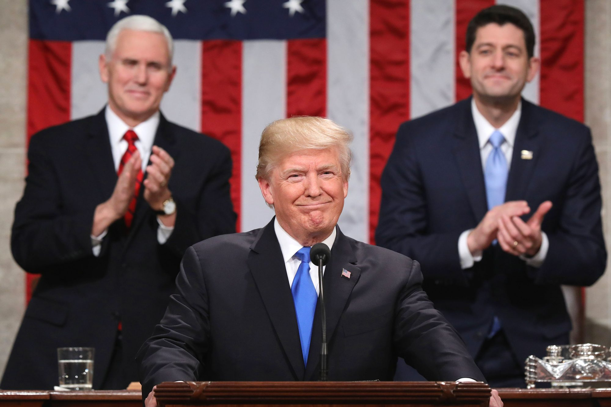 President Trump Delivers His First State Of The Union Address