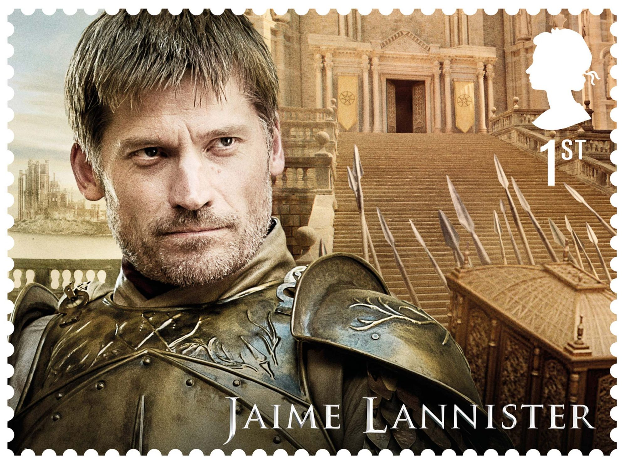 GoT Jamie Lannister stamp