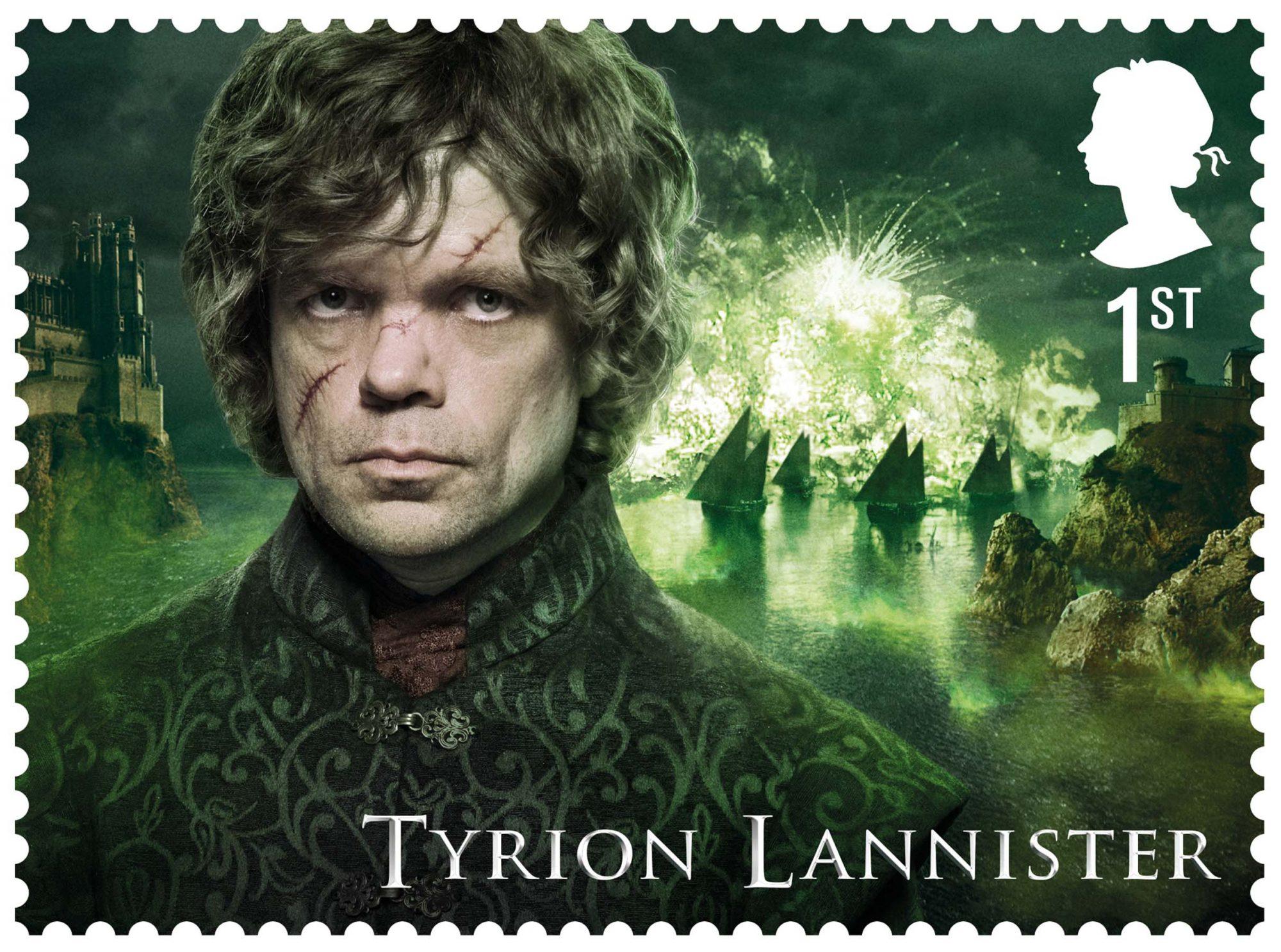 GoT Tyrion Lannister stamp