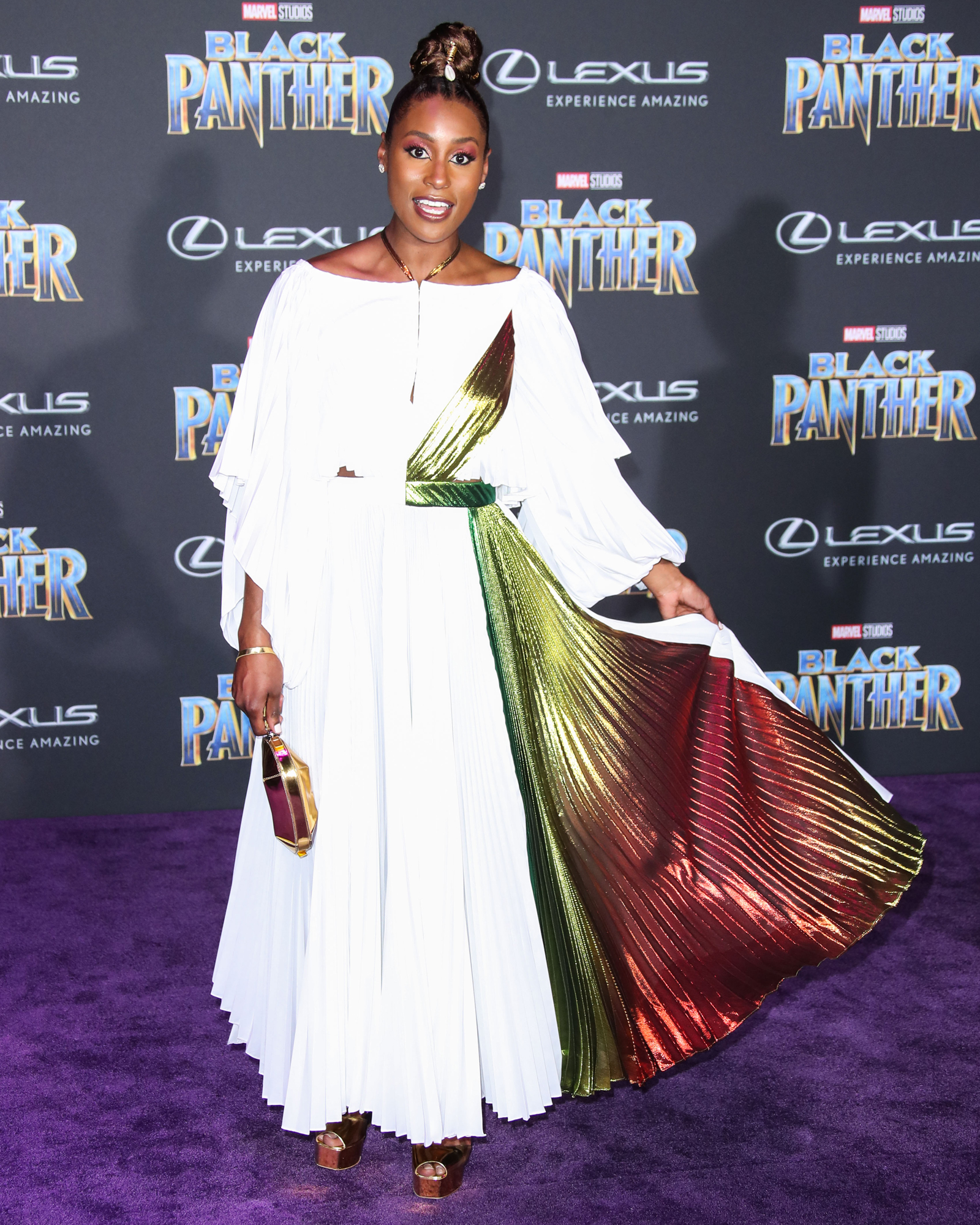 'Black Panther' film premiere, Arrivals, Los Angeles, USA - 29 Jan 2018
