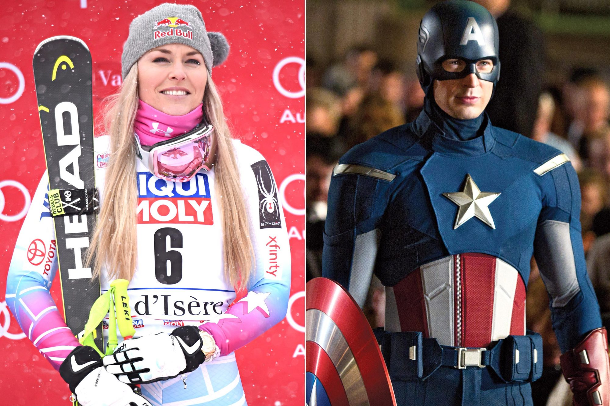 Lindsey-Vonn-Captain-America