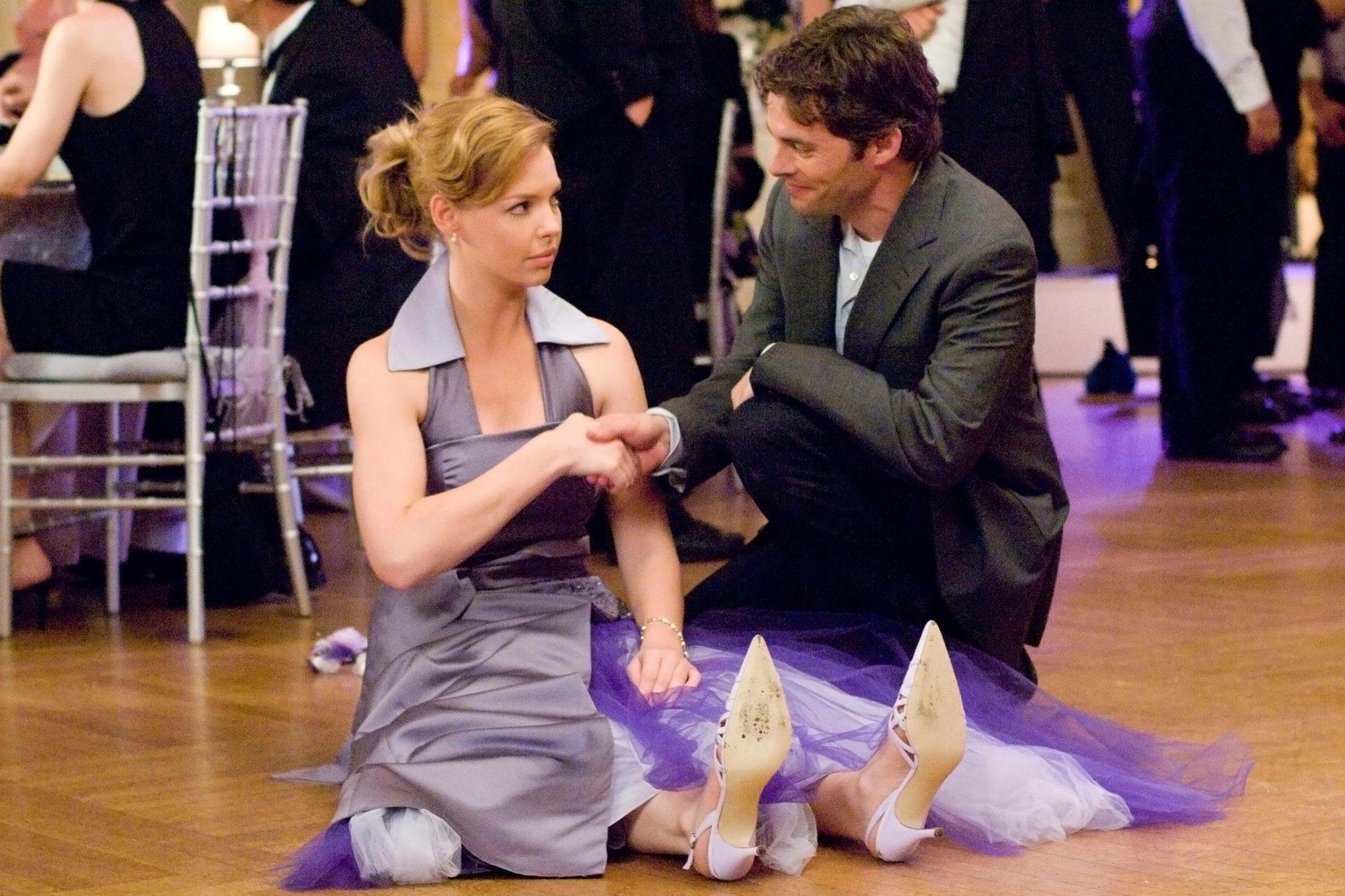 27 DRESSES, Katherine Heigl, James Marsden, 2008. TM &©20th Century Fox. All rights reserved/courtes
