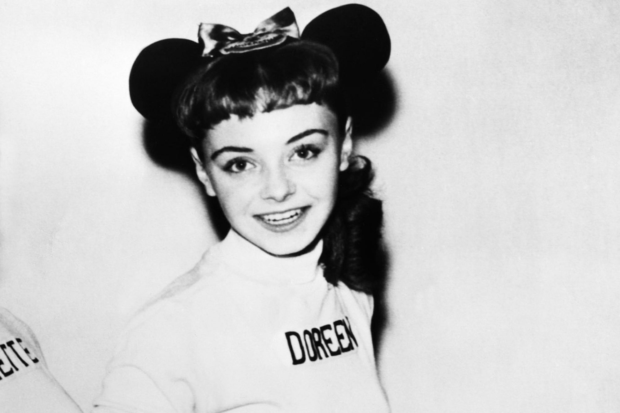THE MICKEY MOUSE CLUB, from left: Annette Funicello, Doreen Tracey, 1955-1959