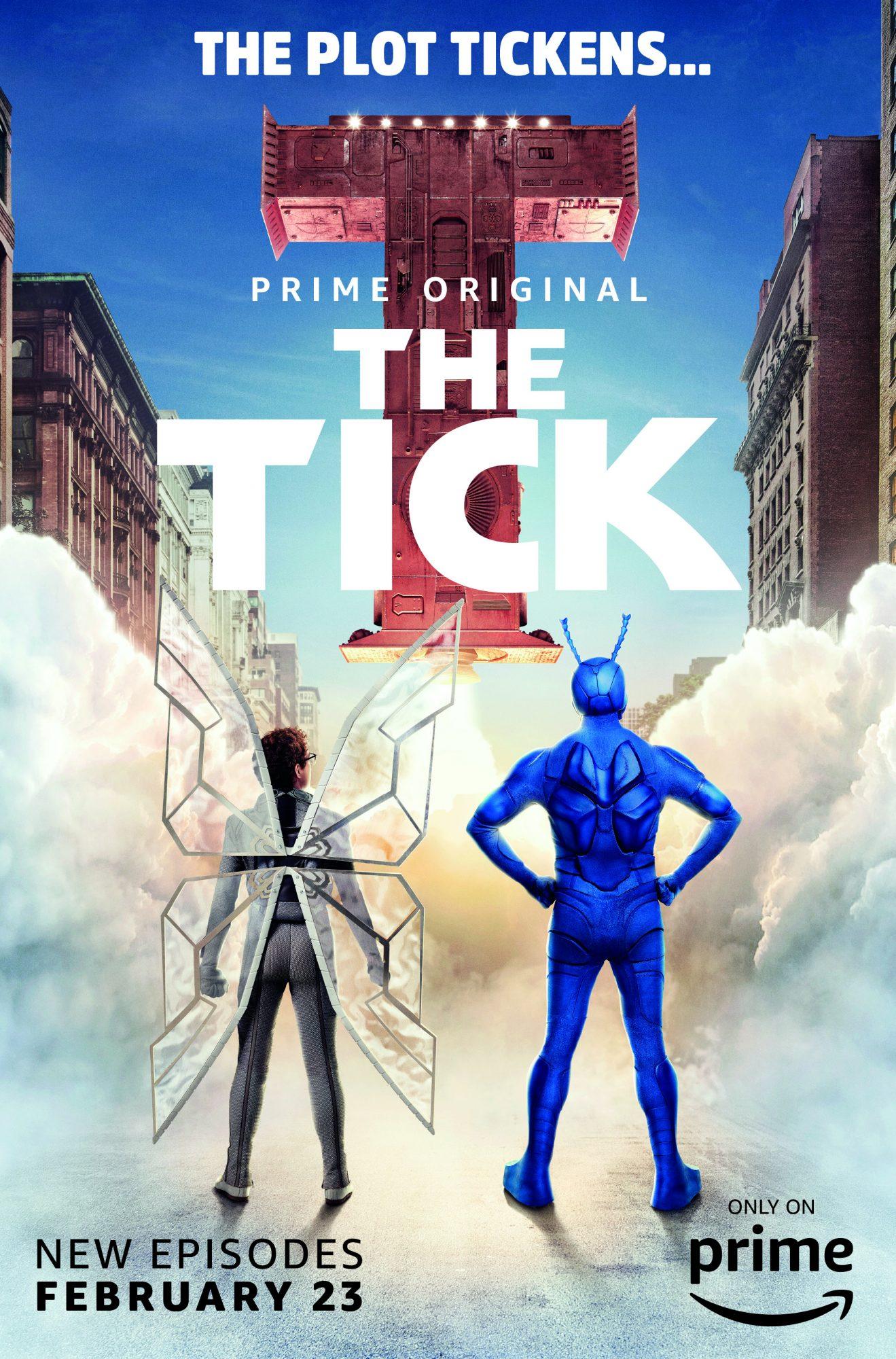 Tick Vertical Key Art T Rocket LARGE
