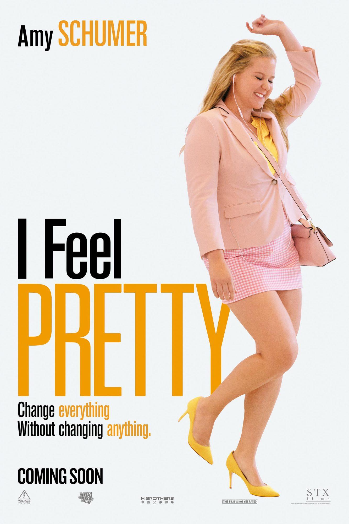 I FEEL PRETTY (2018) Movie poster CR: STXfilms