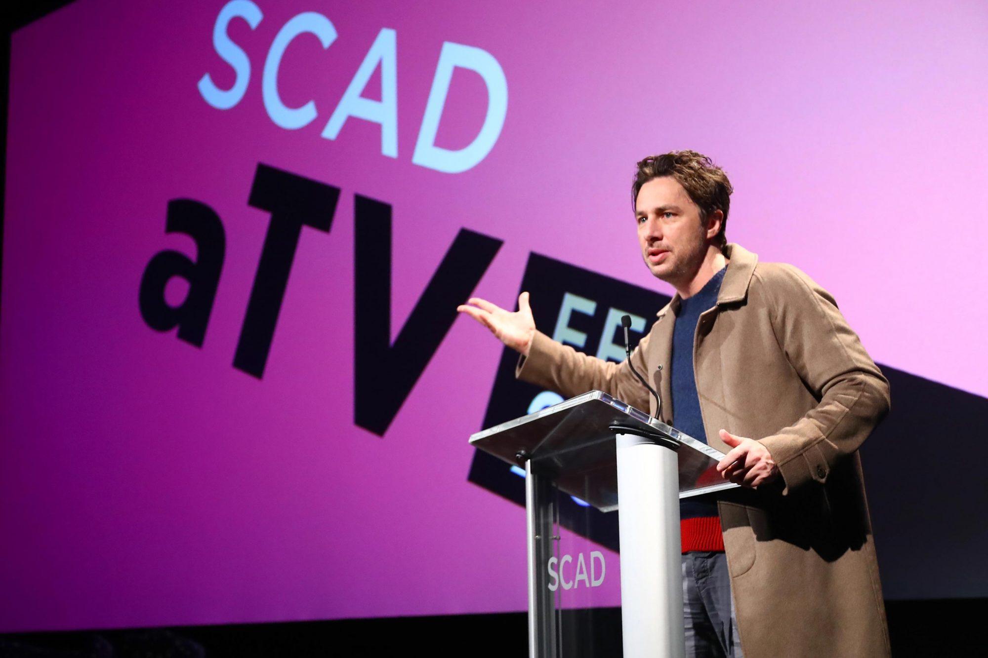 SCAD aTVfest 2018 - Spotlight Award Presentation, Zach Braff