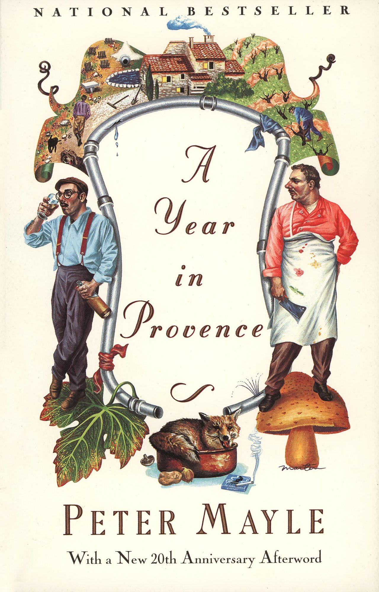 A Year in ProvenceBook by Peter Mayle CR: Random House