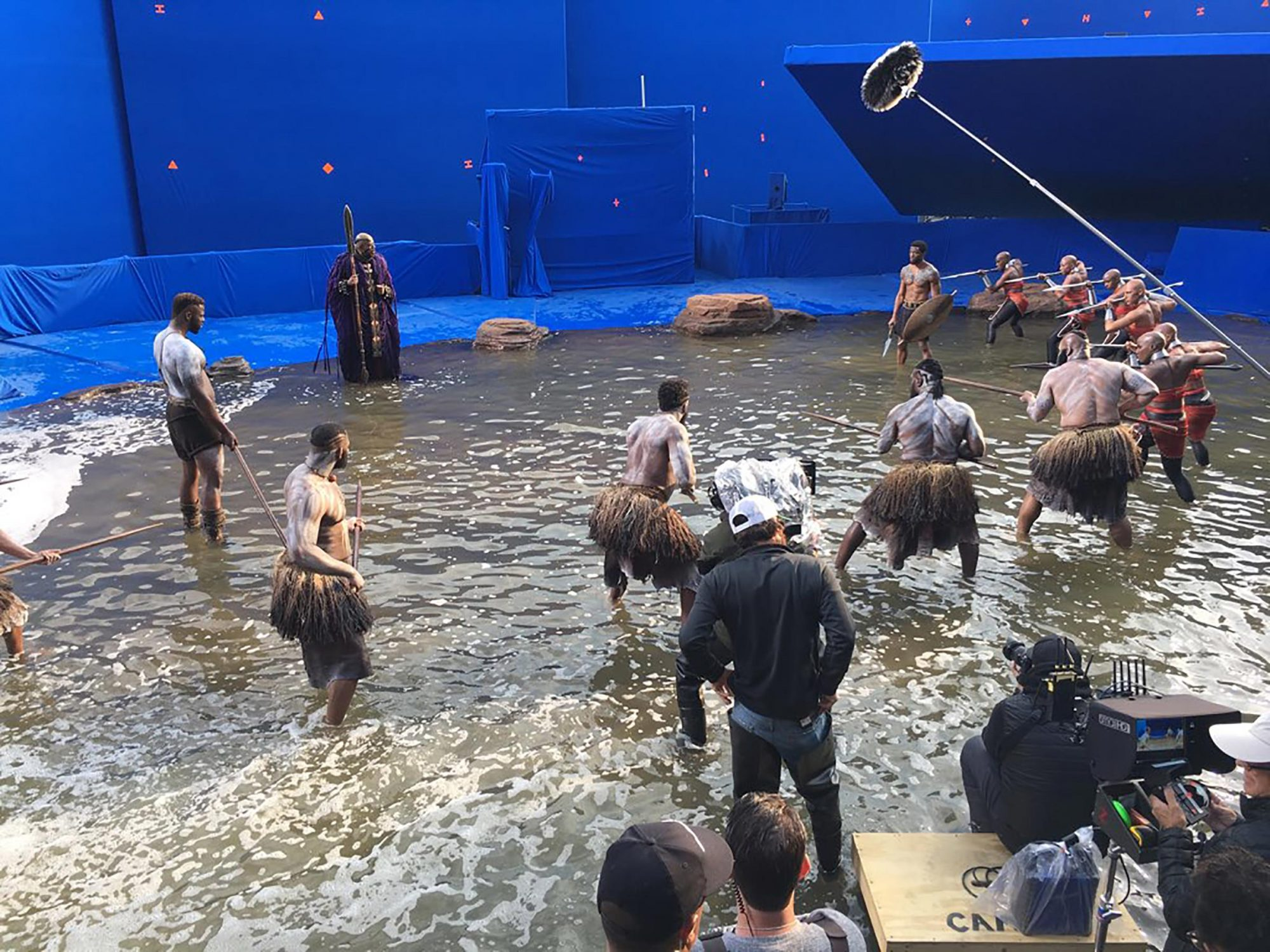 Black Panther BTS photos CR: Courtesy of Winston Duke