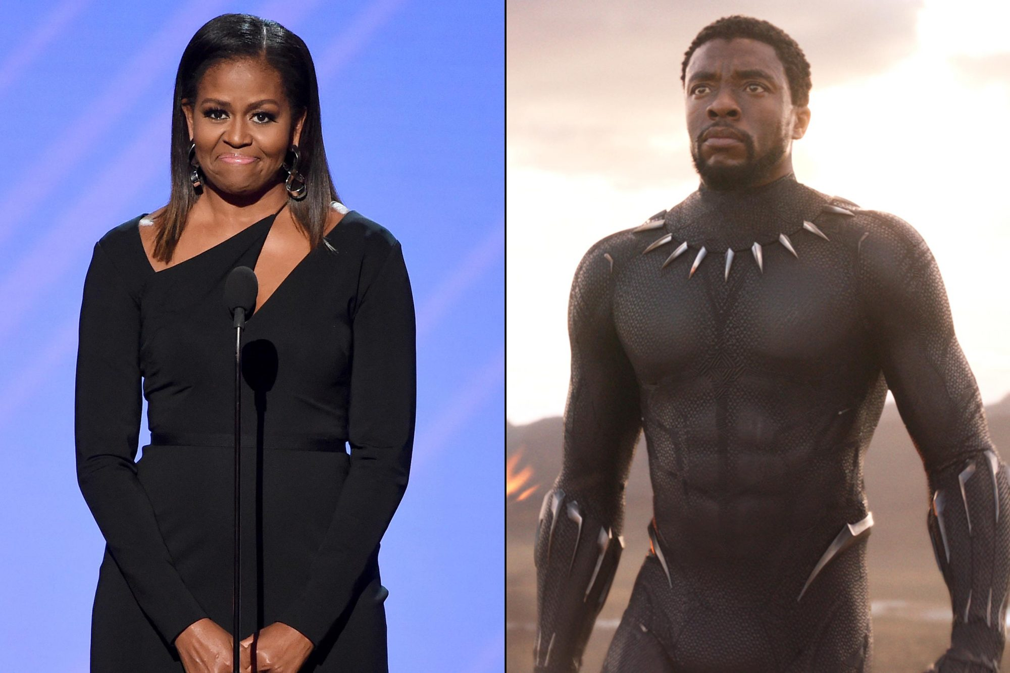 Black-Panther-Michelle-Obama