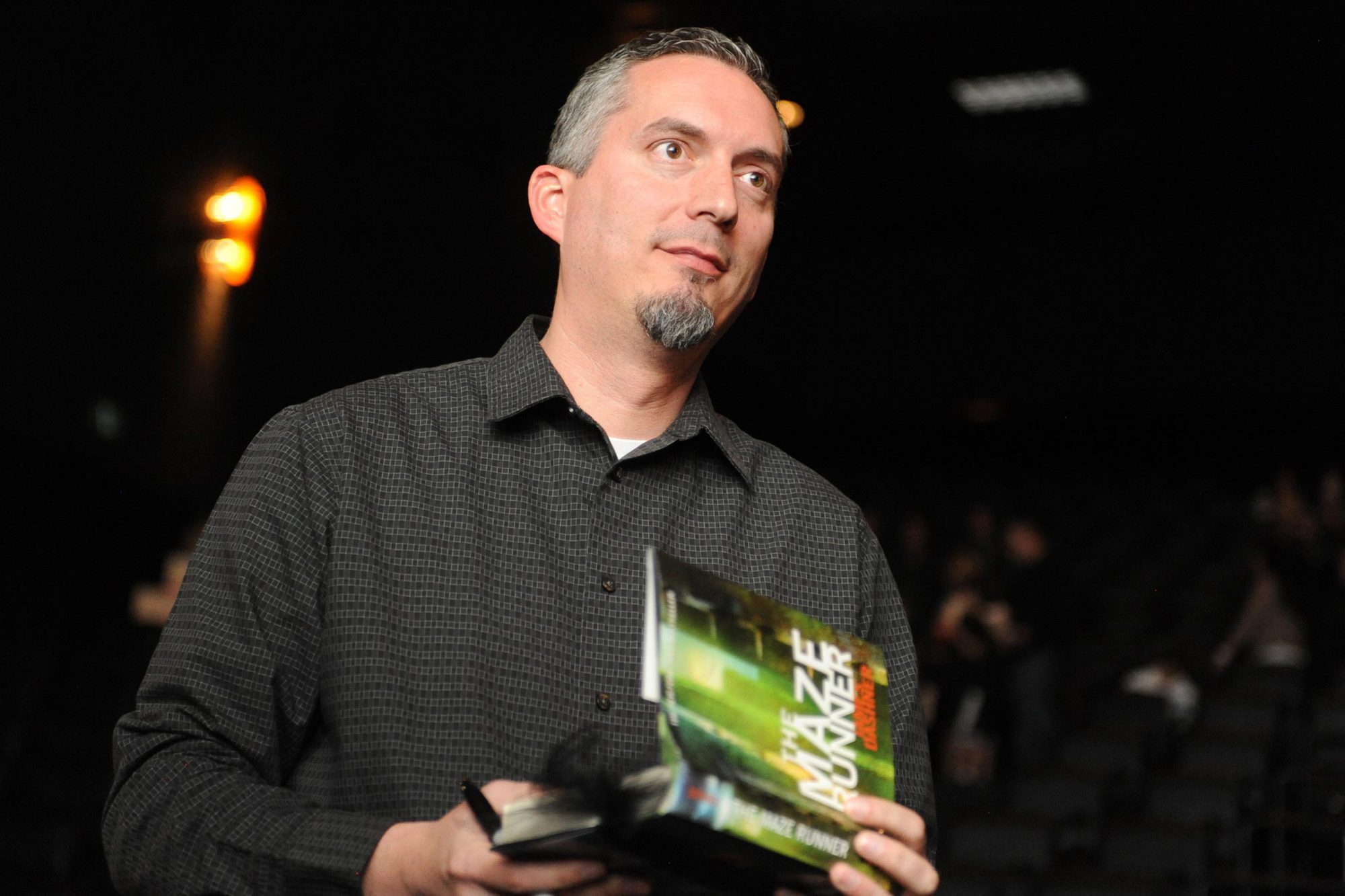 THE MAZE RUNNER Opening Night Q&A With Author James Dashner