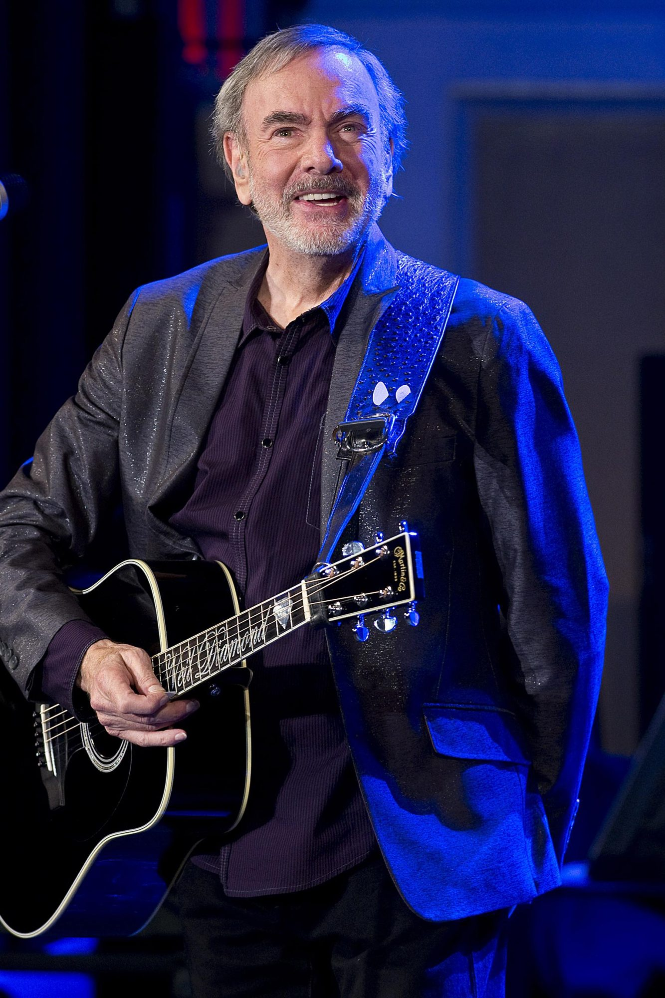 Neil Diamond Special Performance And Announcement