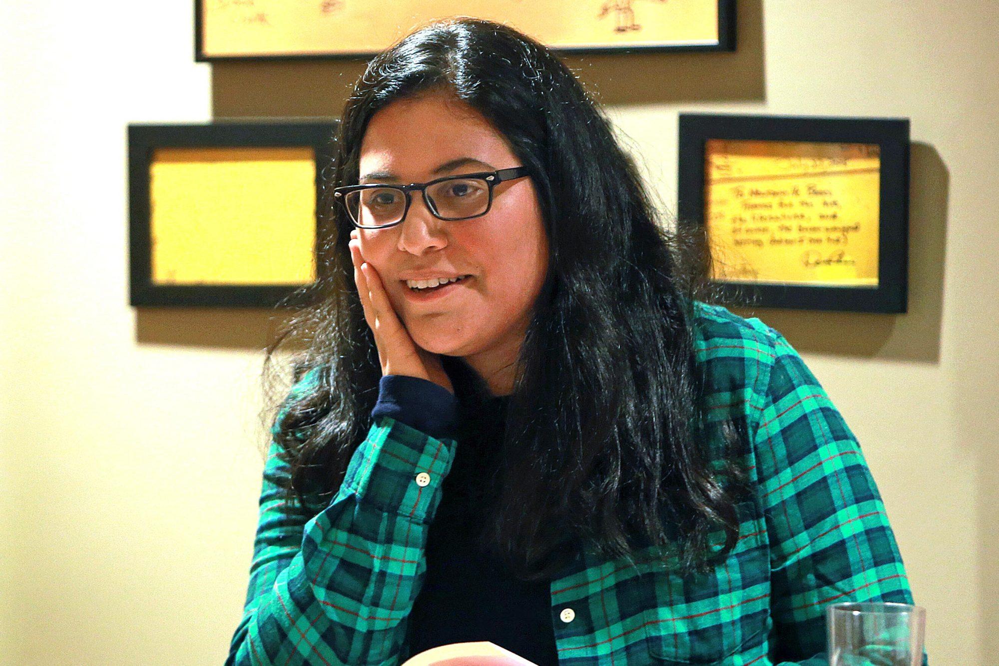 Author Sara Farizan At Newtonville Books