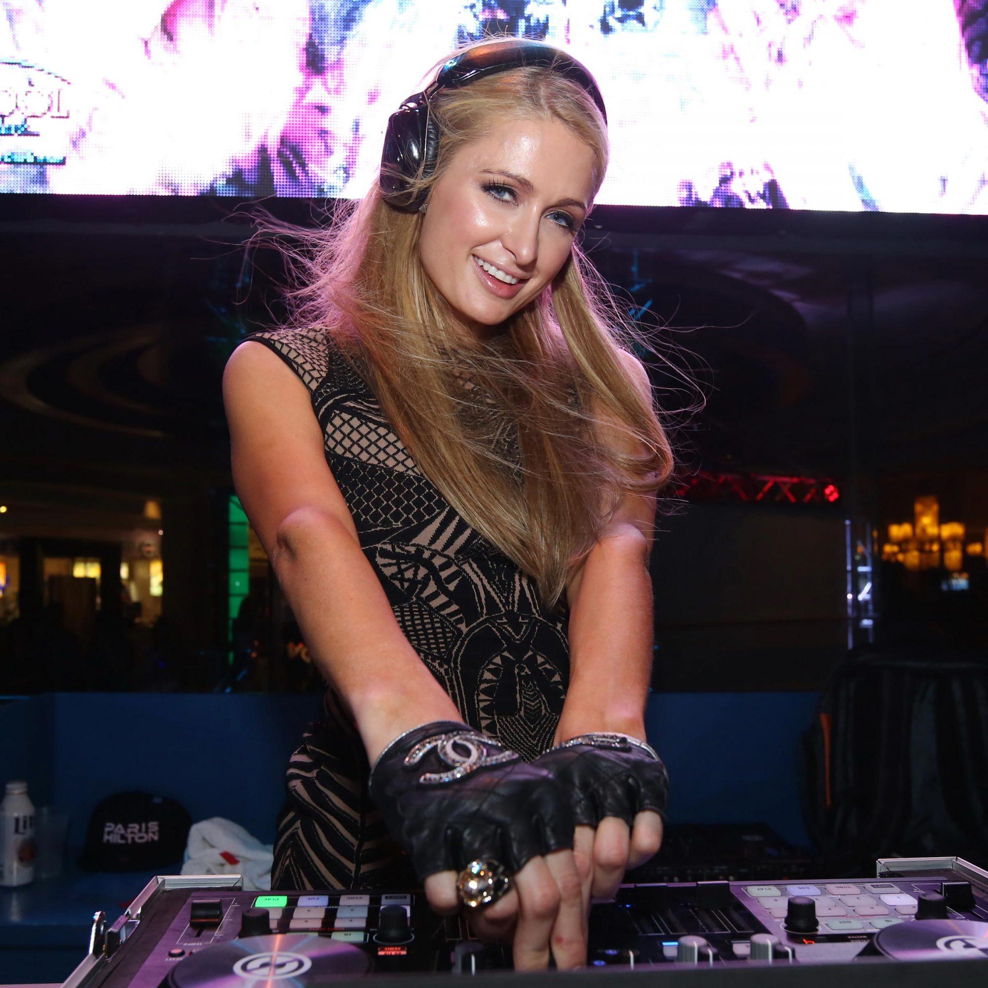 Paris Hilton Hosts The Pool After Dark