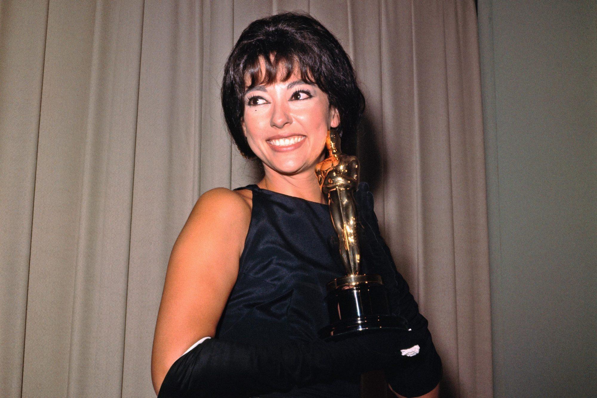 Rita Moreno Holding Award
