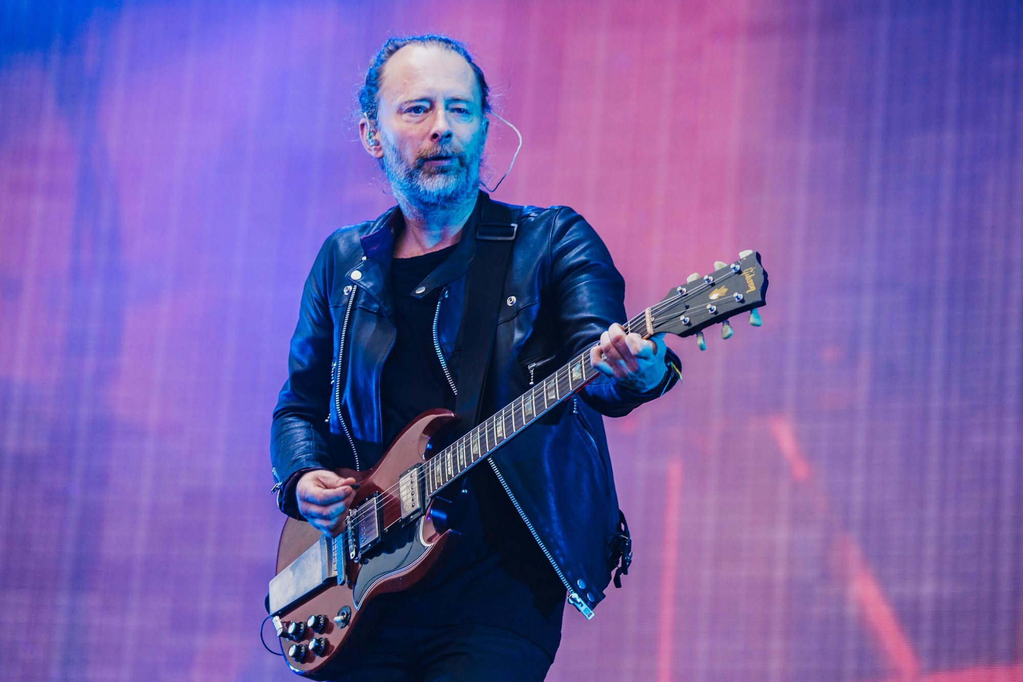 Radiohead Perform At Emirates Old Trafford