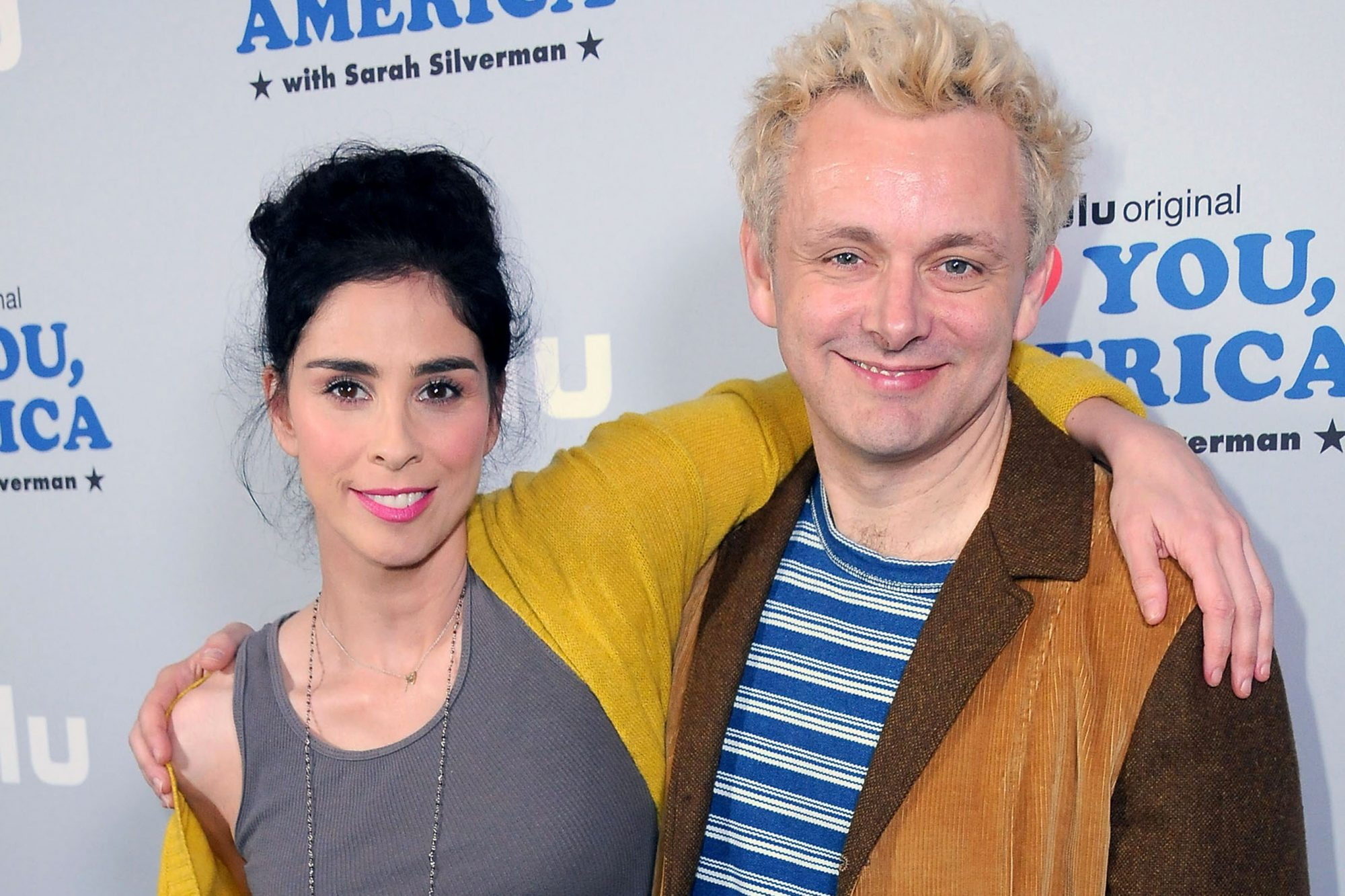 "Photo Op For Hulu's ""I Love You America"" With Sarah Silverman"