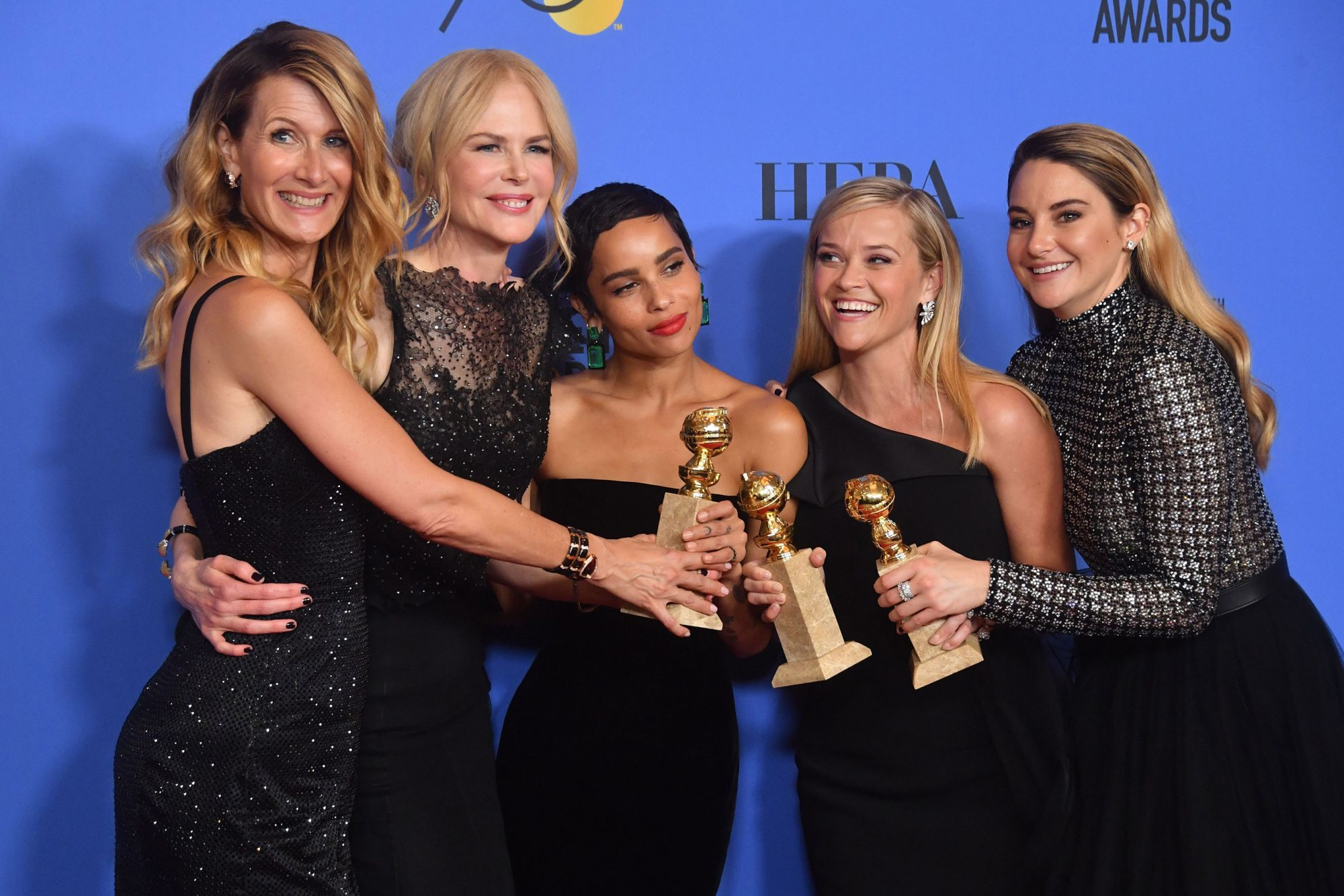 US-ENTERTAINMENT-GOLDEN-GLOBES-PRESSROOM