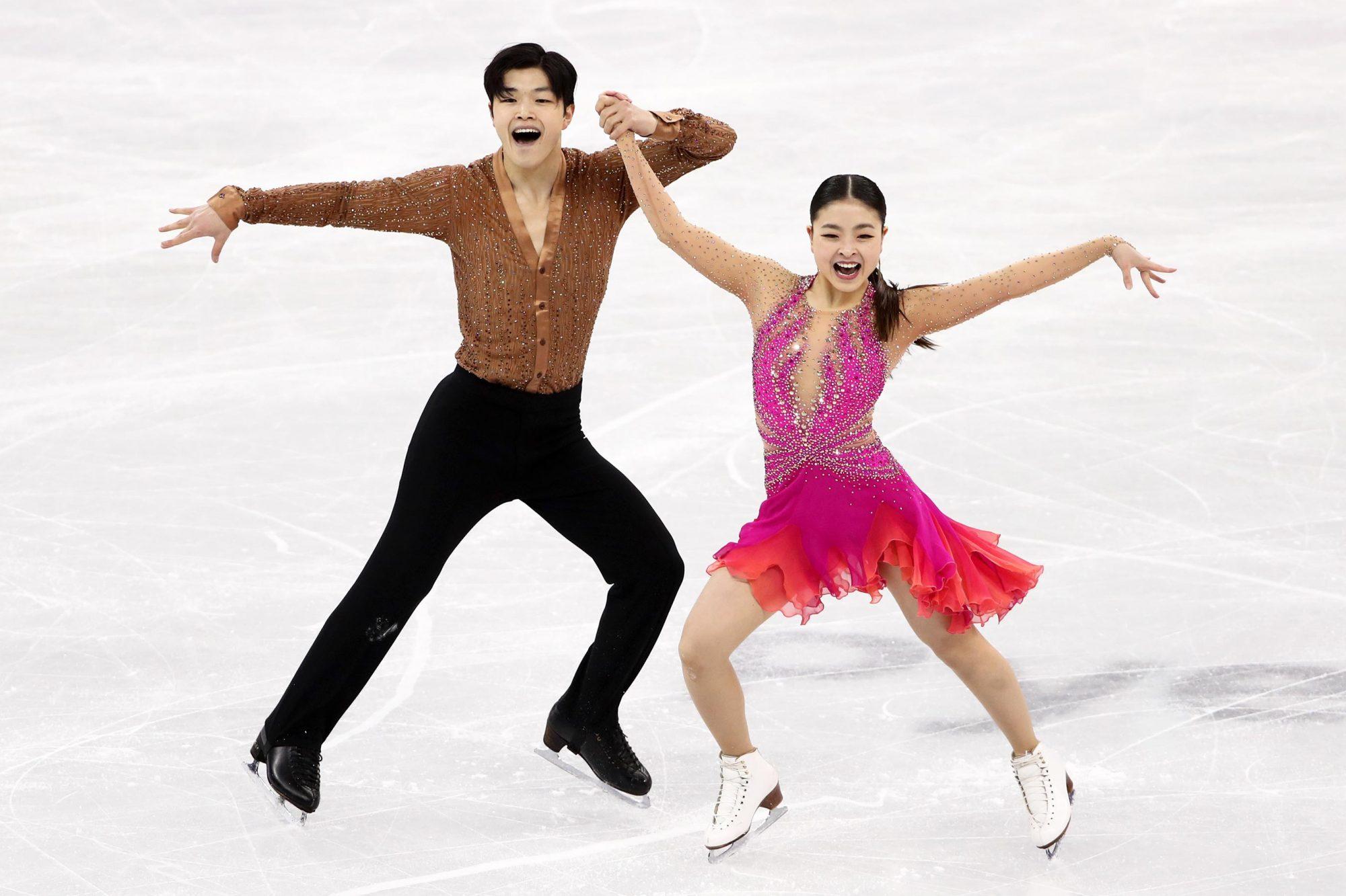 PyeongChang 2018 Olympics: figure skating, short dance