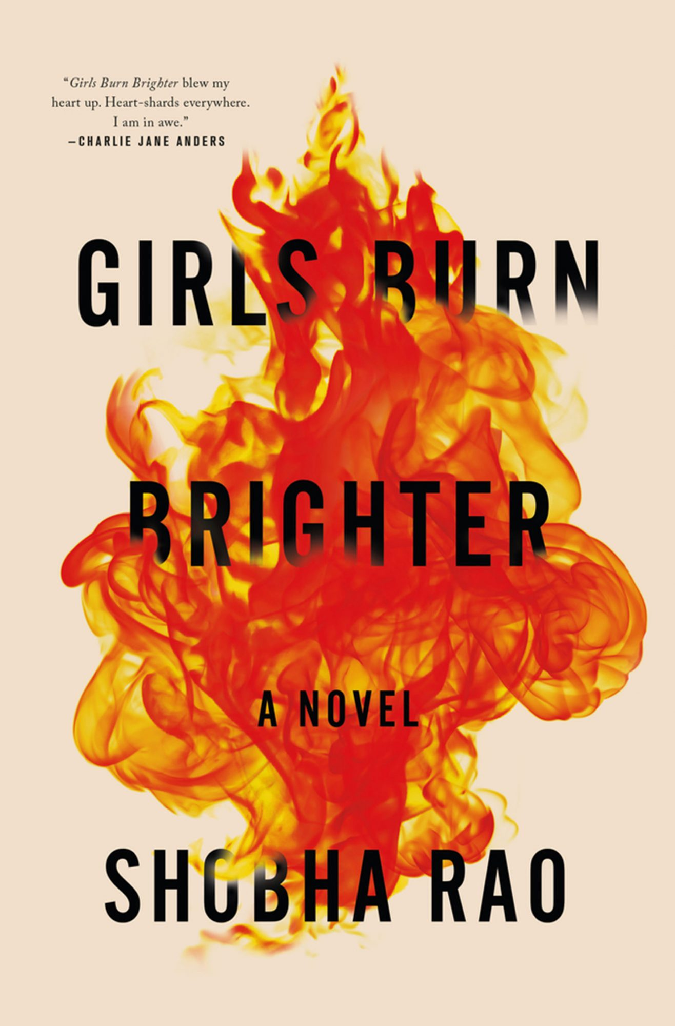 Girls Burn Brighter by Shobha Rao