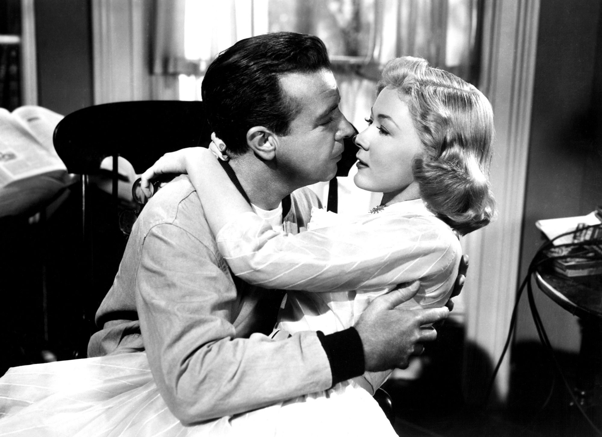 THE BAD AND THE BEAUTIFUL, Dick Powell, Gloria Grahame, 1952