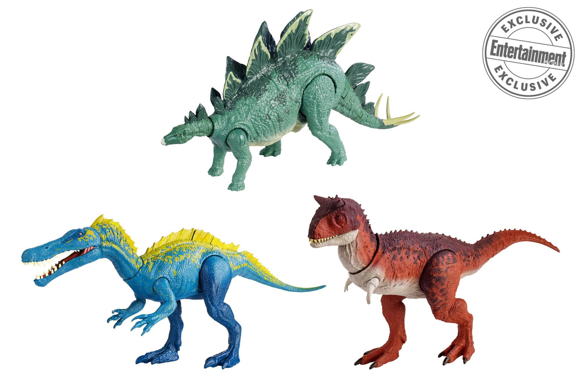 2018 Mattel Jurassic World Fallen Kingdom 3-Pack Mini Action Dinos Exclusive
