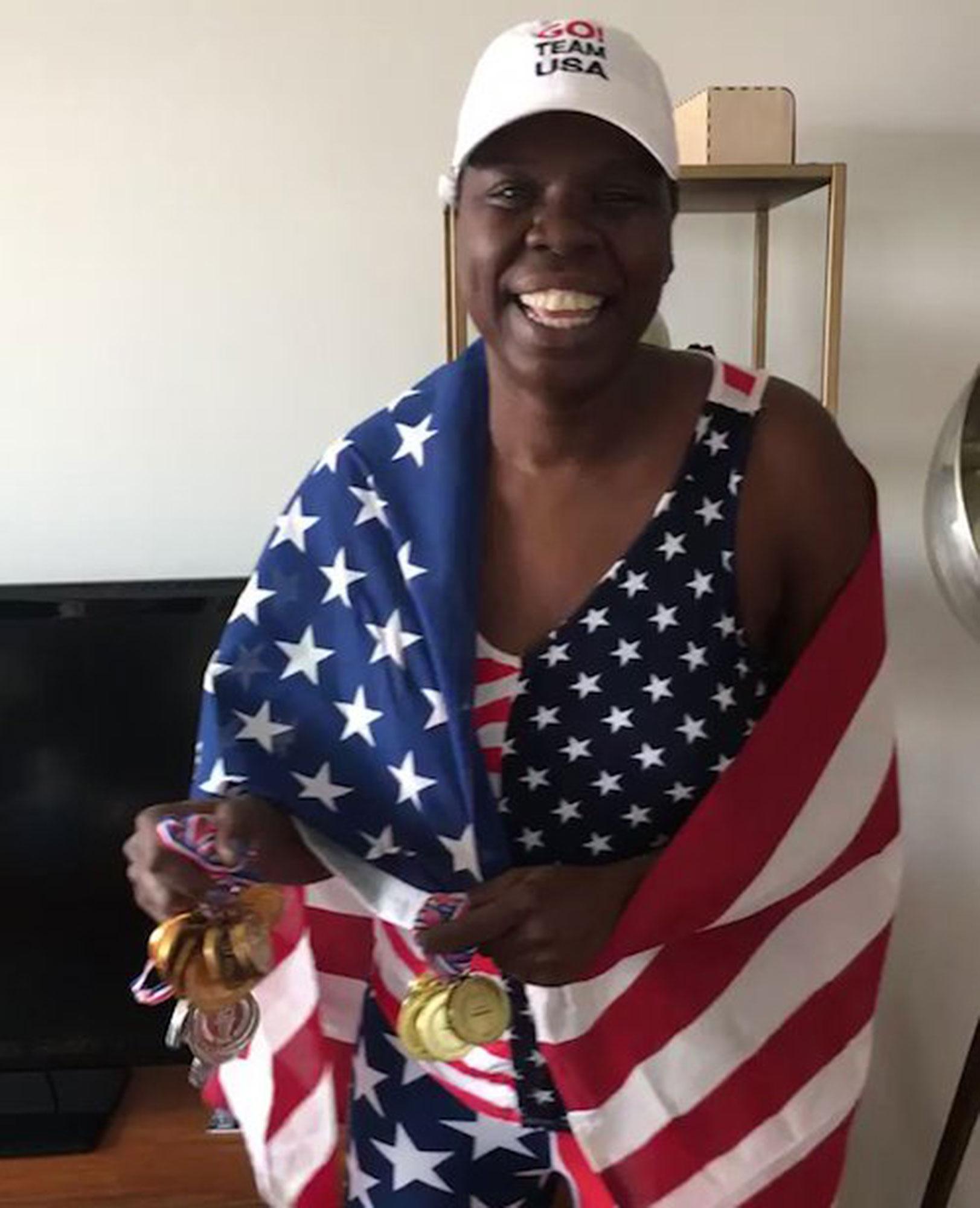 Leslie Jones OlympicsCredit: Leslie Jones/Twitter