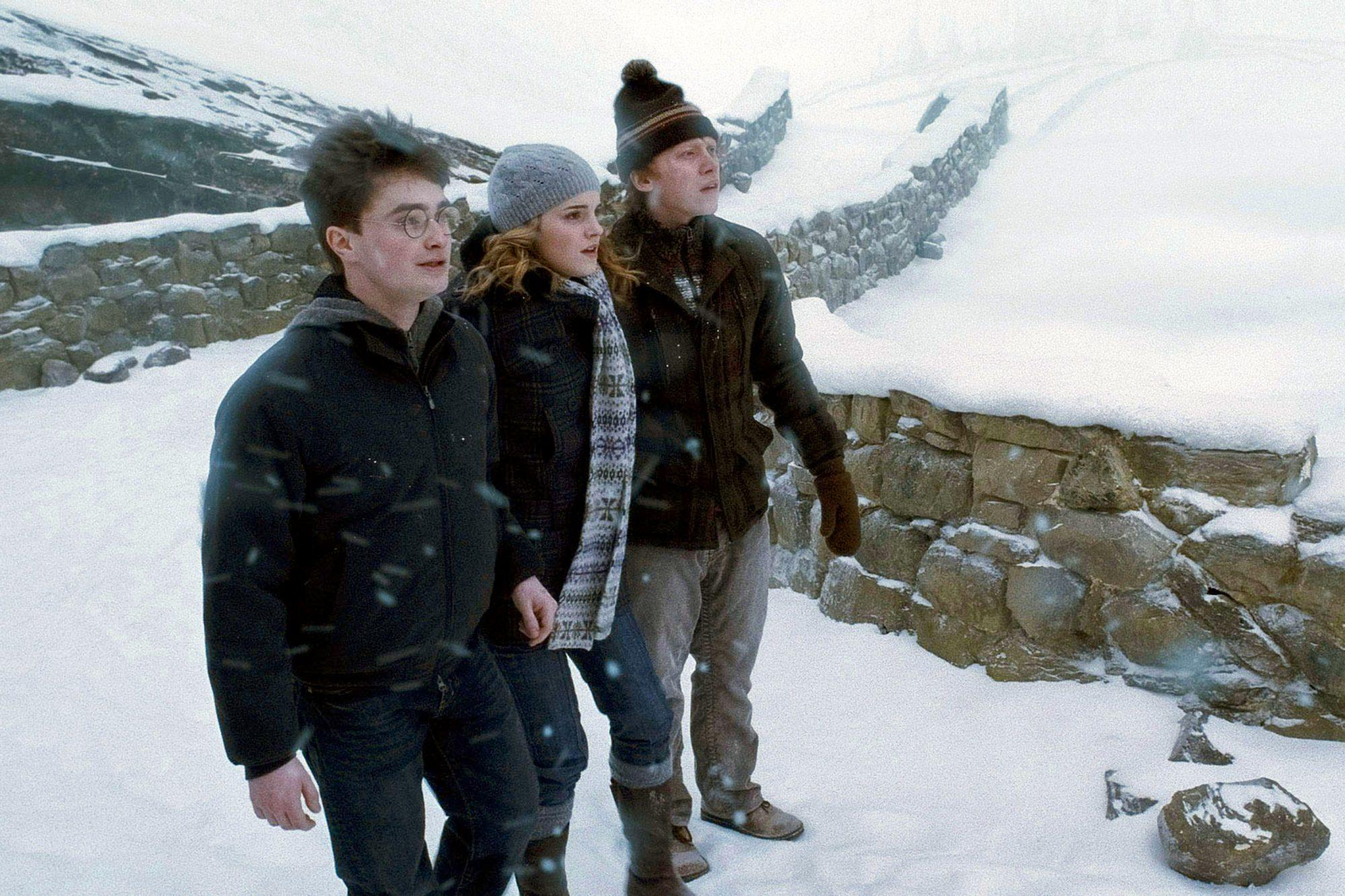 HARRY POTTER AND THE HALF-BLOOD PRINCE, Daniel Radcliffe, Emma Watson, Rupert Grint, 2009. ©Warner B