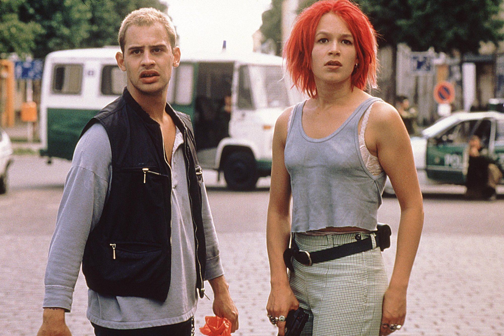 RUN LOLA RUN, (aka LOLA RENNT), Moritz Bleibtreu, Franka Potente, 1998. ©Sony Pictures Classics/cour