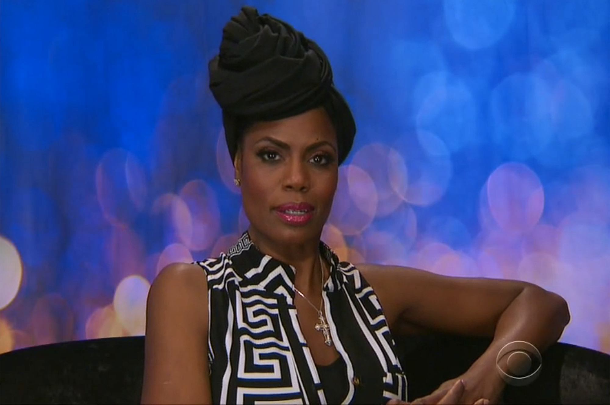 Omarosa Celebrity Big BrotherCredit: CBS