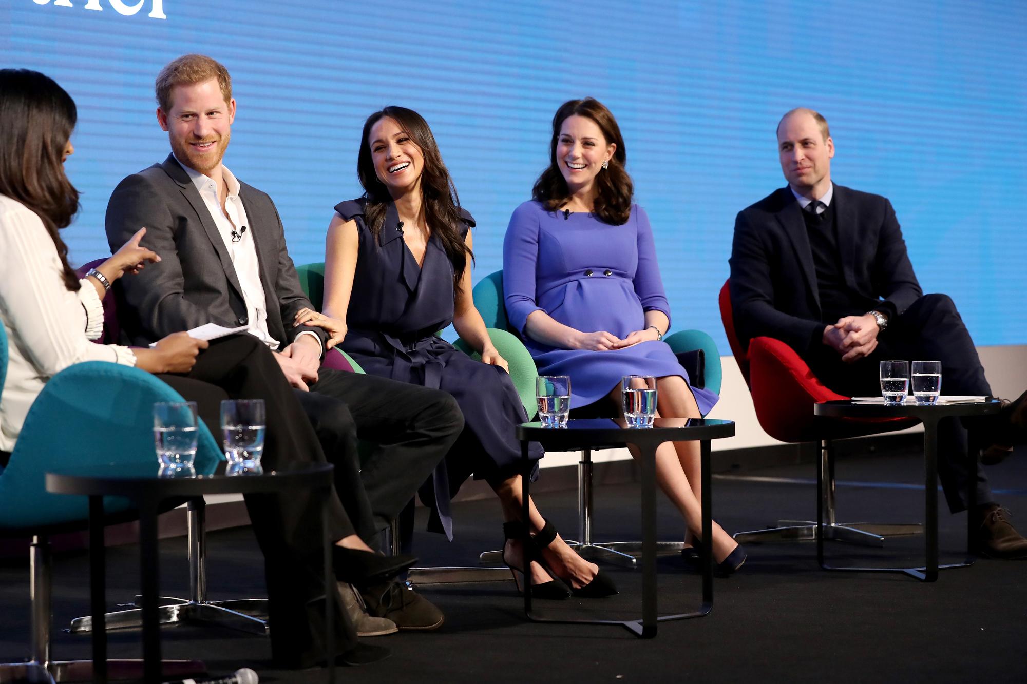 First Annual Royal Foundation Forum, London, UK - 28 Feb 2018
