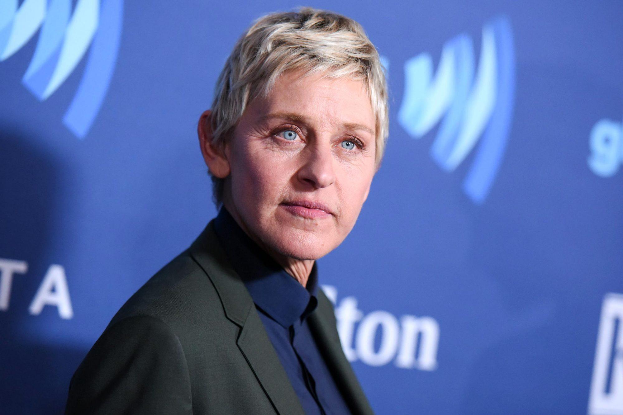People-Ellen DeGeneres, Beverly Hills, USA - 16 Aug 2016