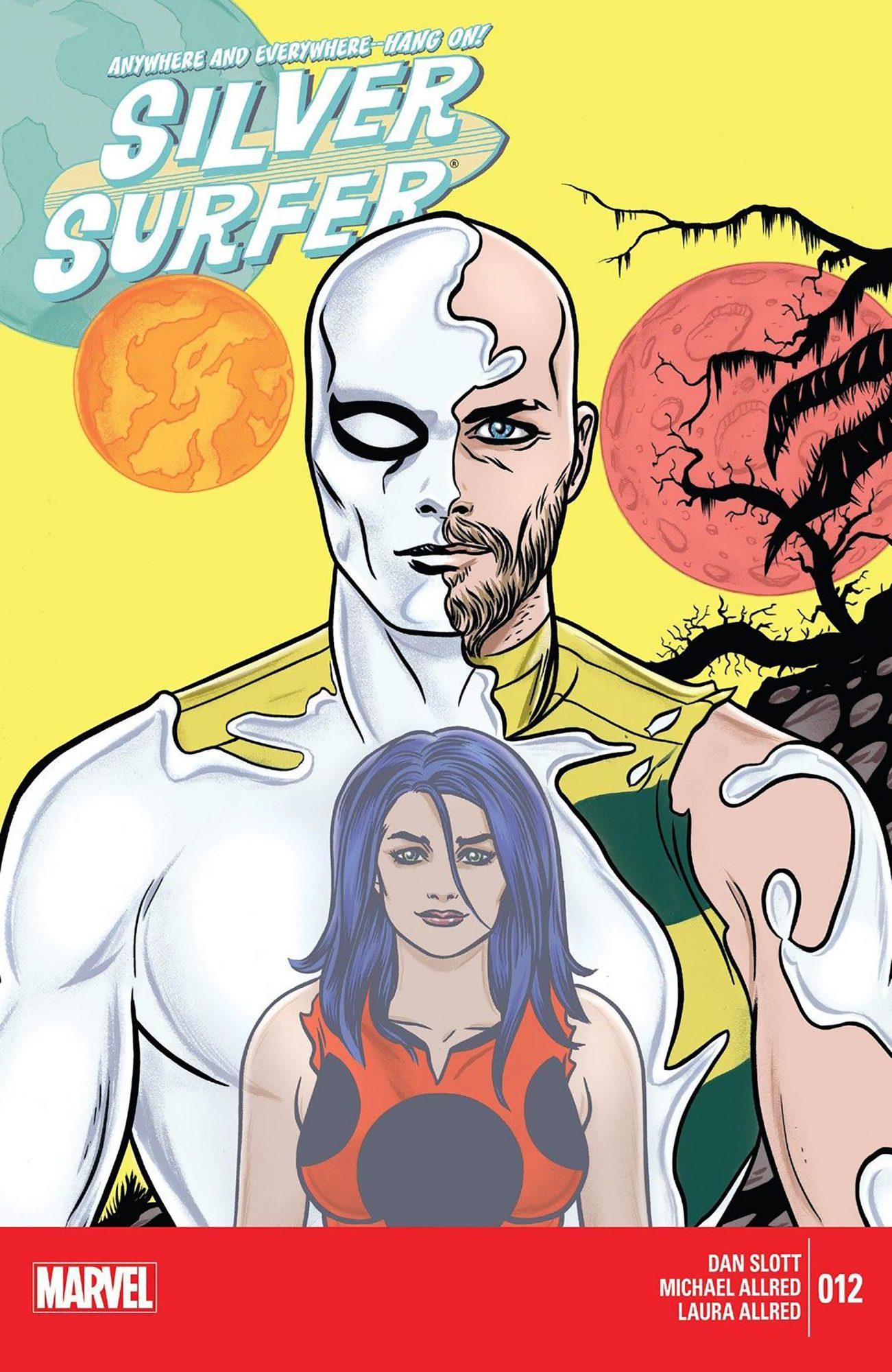 Silver Surfer #12 CR: Marvel