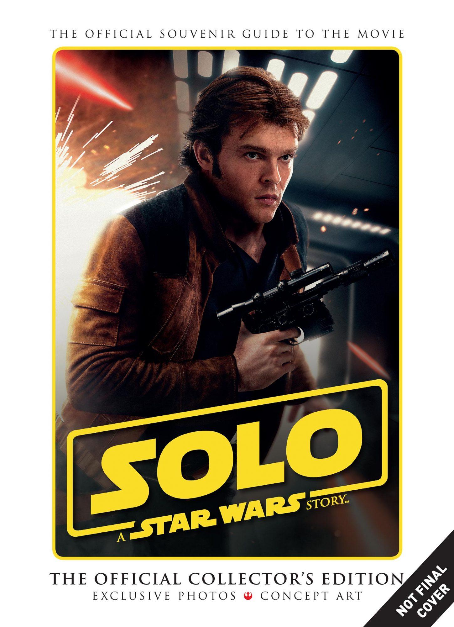 Star Wars 'Solo' Comic Books CR: Disney