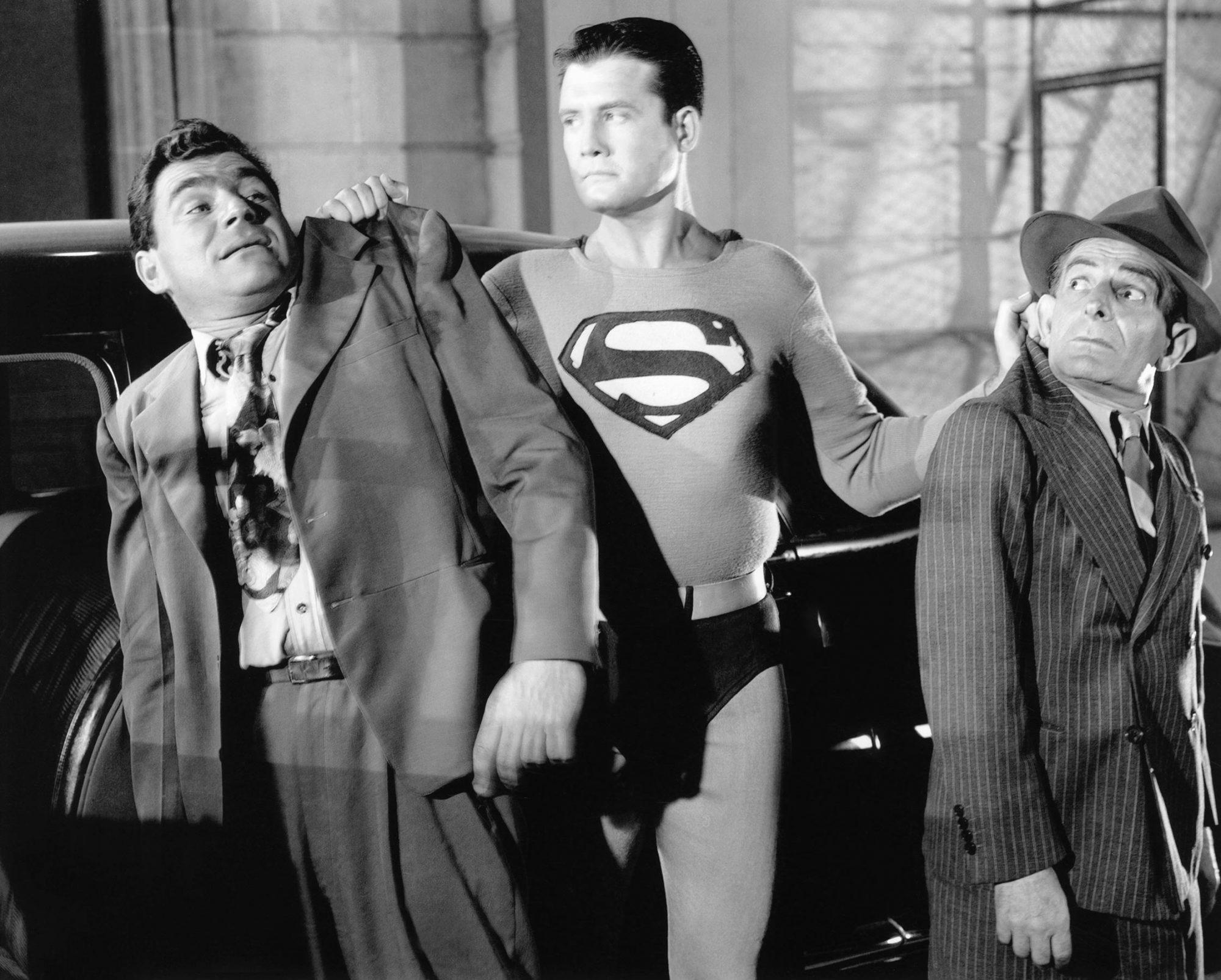 ADVENTURES OF SUPERMAN, George Reeves, (center), 1951-57