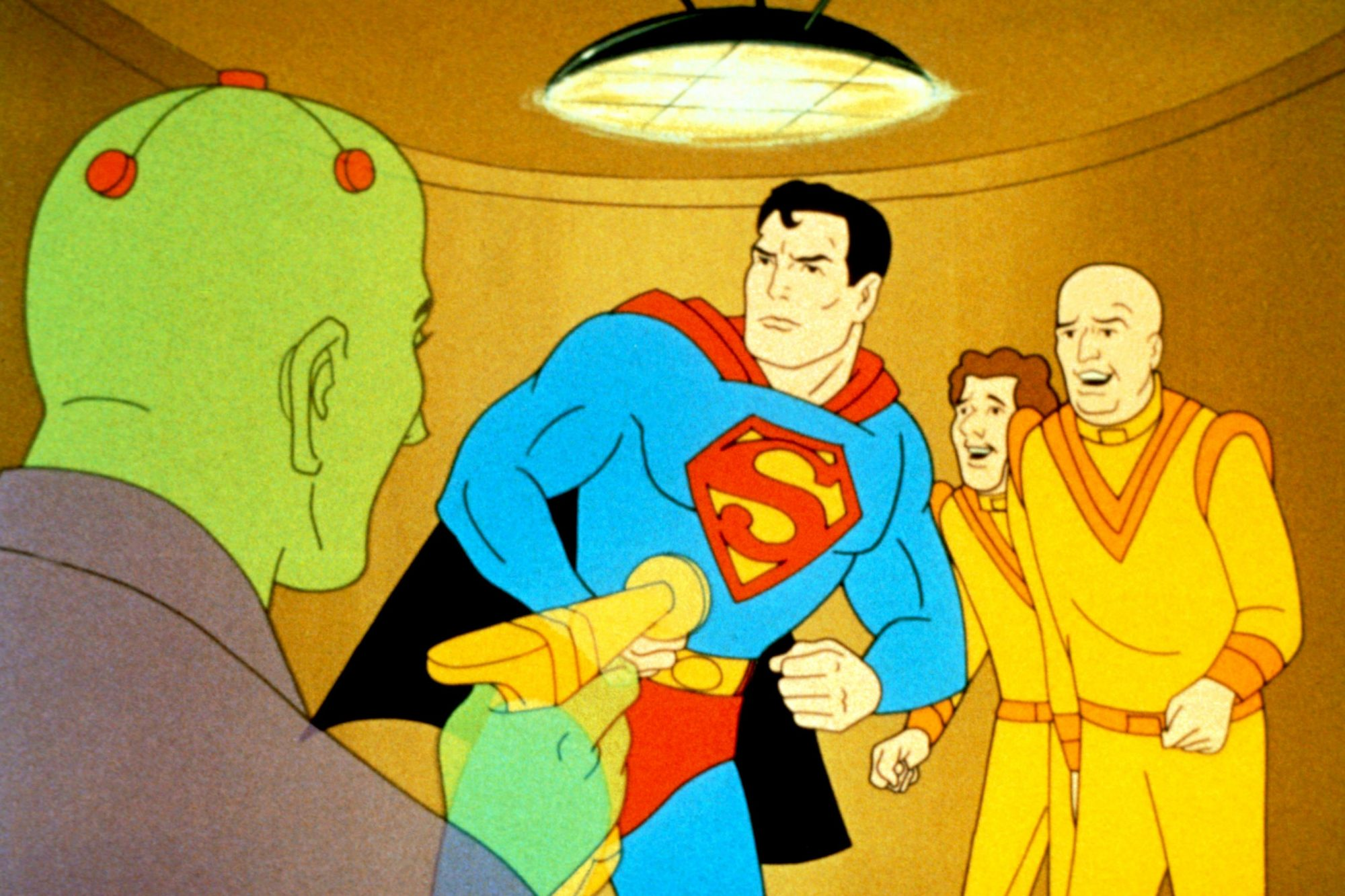 THE NEW ADVENTURES OF SUPERMAN, Superman, 1966-70.