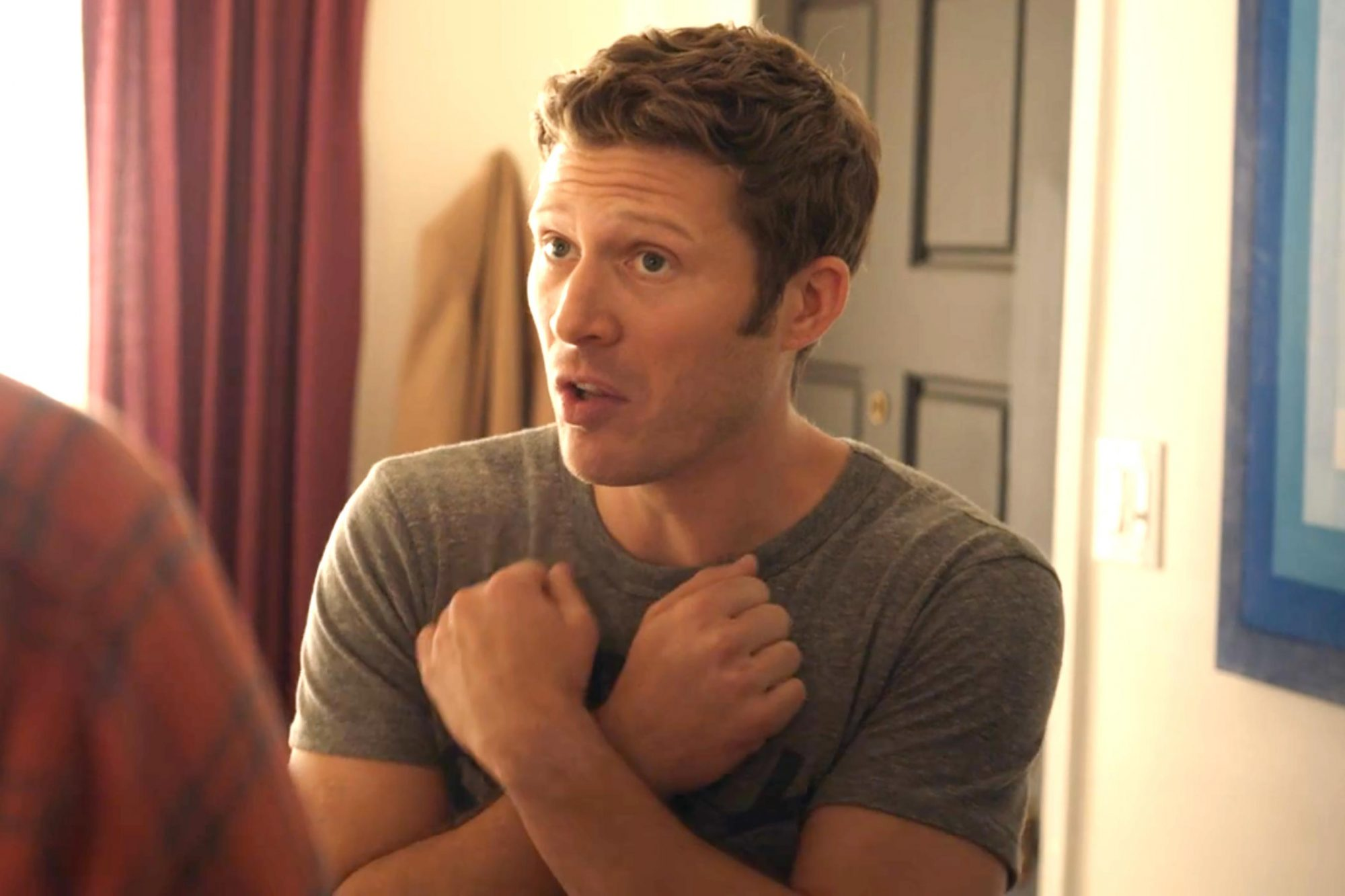 This Close -- Pictured: Zach Gilford (screen grab)