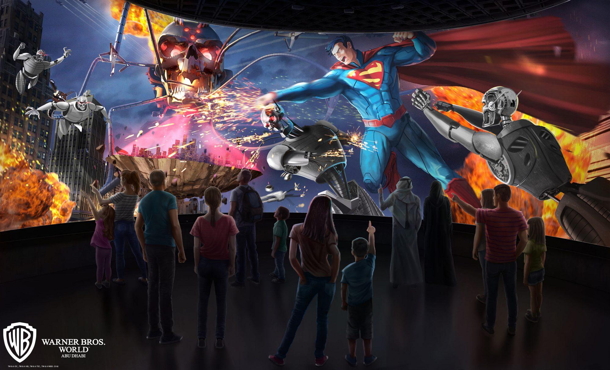 WBW-Superman-360-Battle-for-Metropolis-Rendering