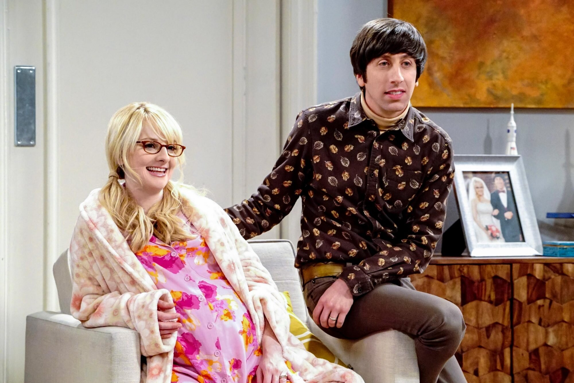 Penny and leonard pregnant