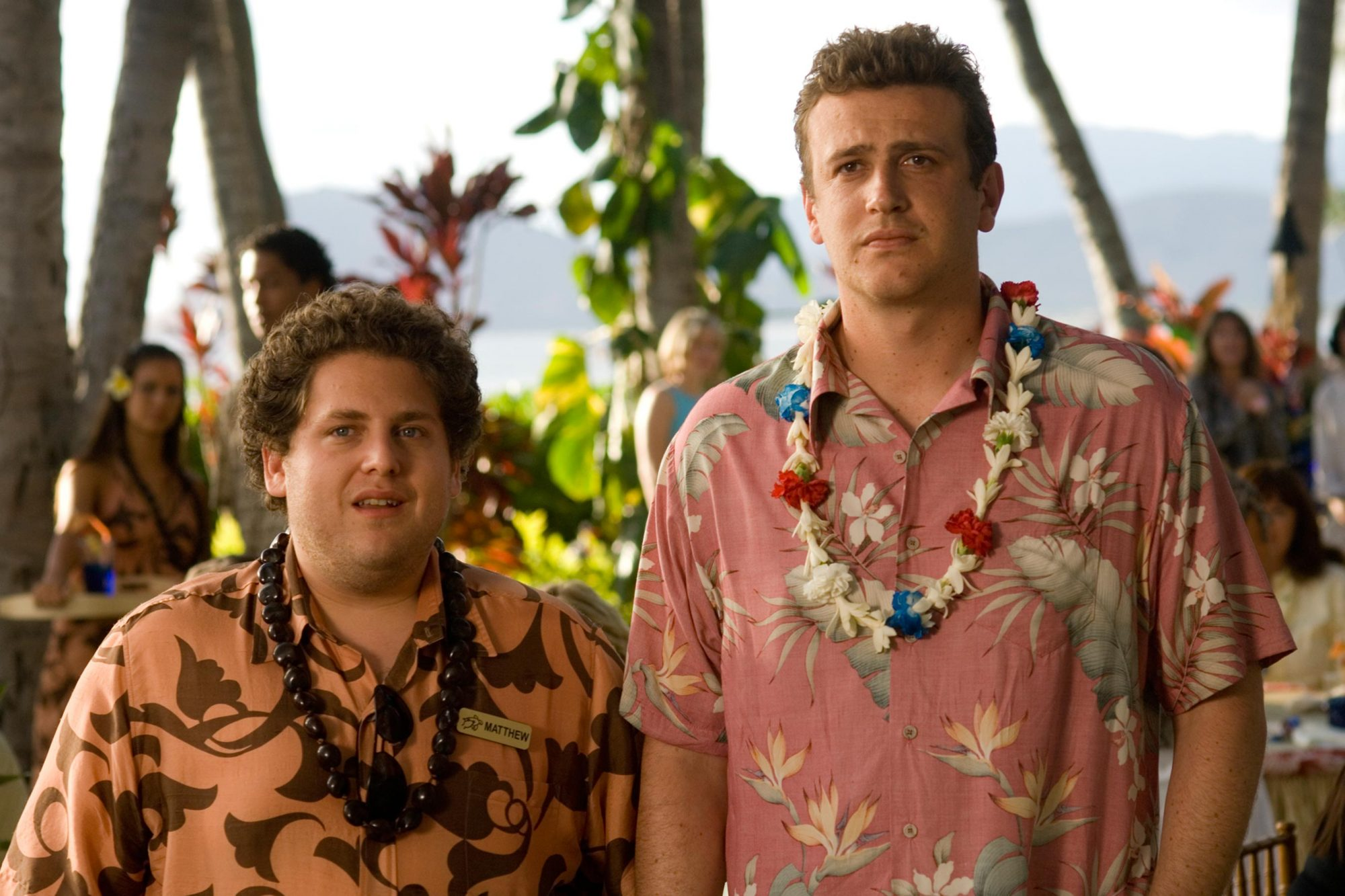 Forgetting Sarah Marshall (2008)Jonah Hill (L) and Jason Segel