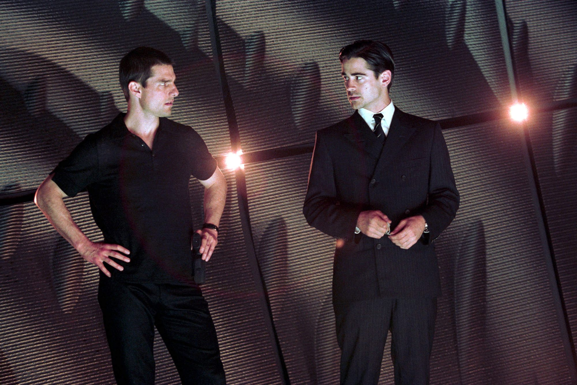 Minority report (2002)L-R: Tom Cruise and Colin Farrell